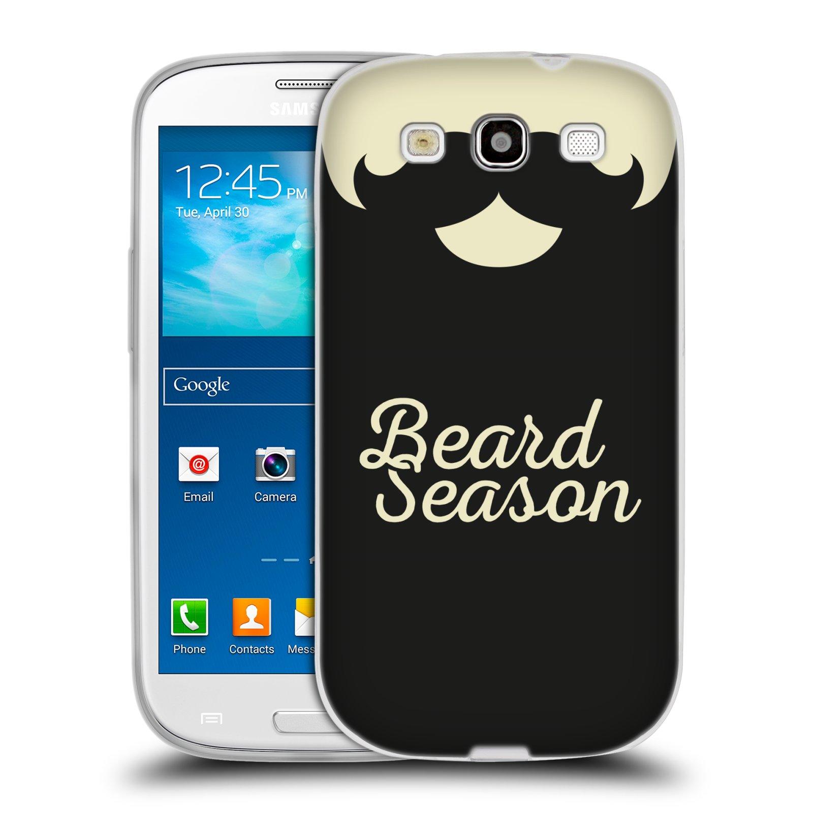 Silikonové pouzdro na mobil Samsung Galaxy S3 Neo HEAD CASE KNÍR BEARD SEASON (Silikonový kryt či obal na mobilní telefon Samsung Galaxy S3 Neo GT-i9301i)