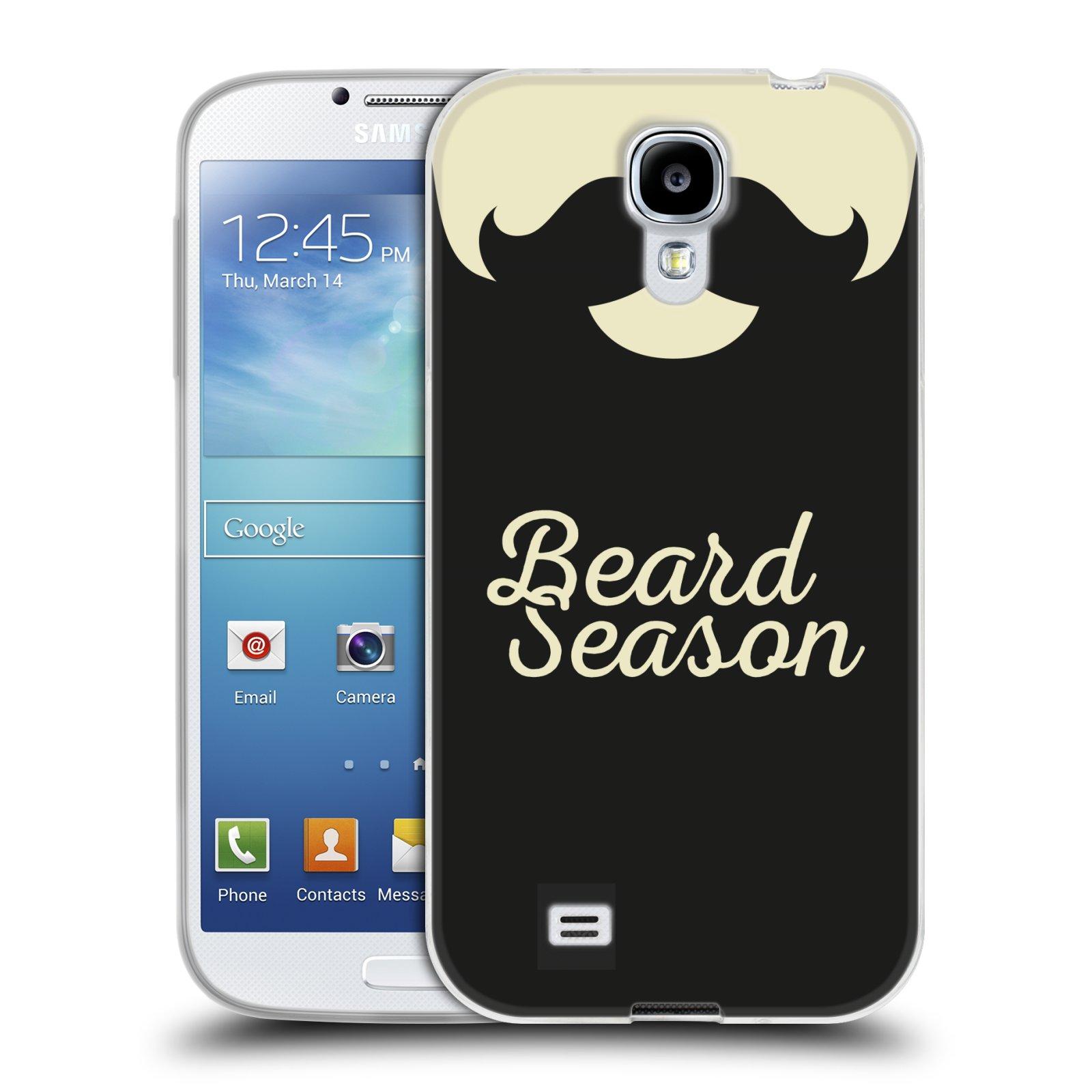 Silikonové pouzdro na mobil Samsung Galaxy S4 HEAD CASE KNÍR BEARD SEASON (Silikonový kryt či obal na mobilní telefon Samsung Galaxy S4 GT-i9505 / i9500)