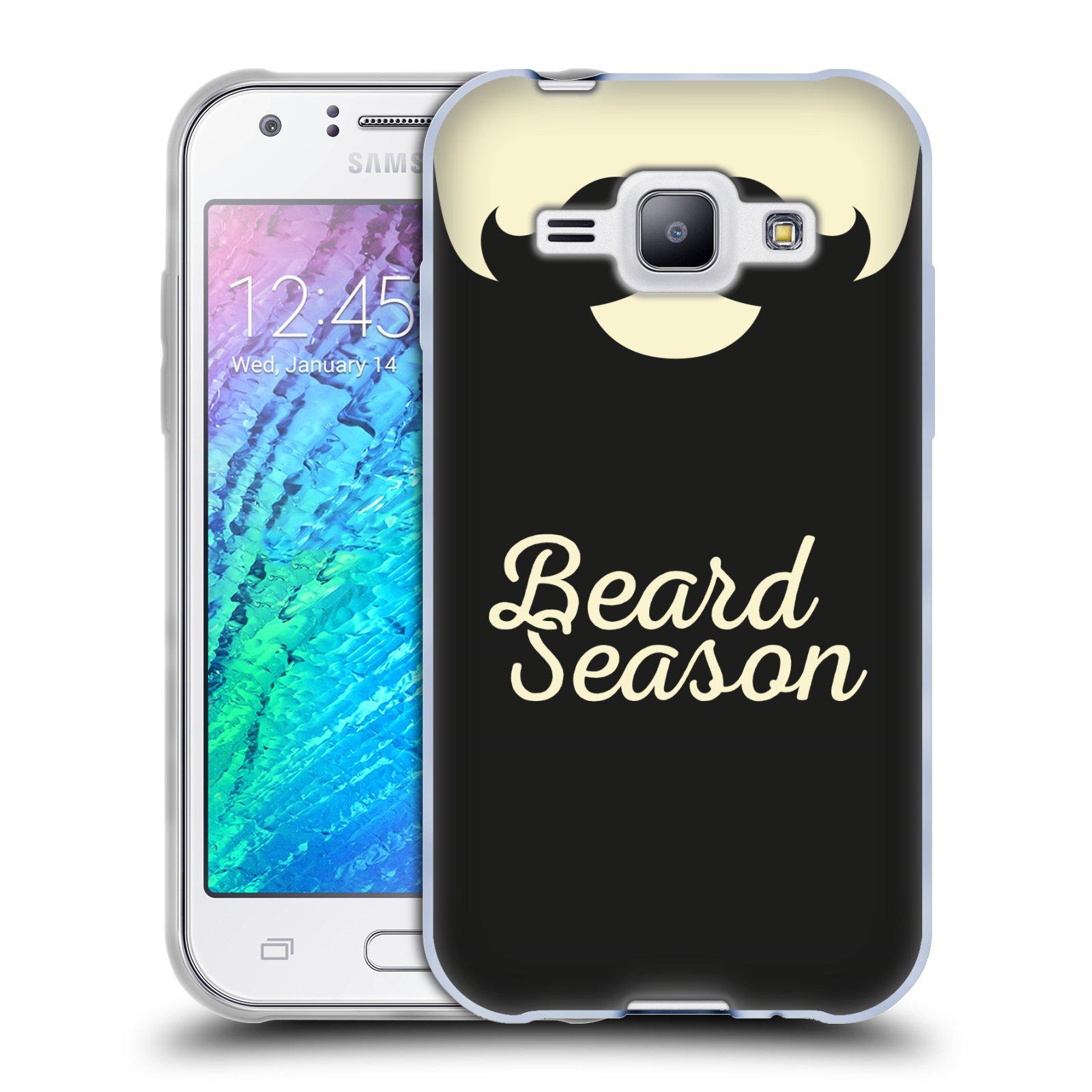 Silikonové pouzdro na mobil Samsung Galaxy J1 HEAD CASE KNÍR BEARD SEASON (Silikonový kryt či obal na mobilní telefon Samsung Galaxy J1 a J1 Duos)