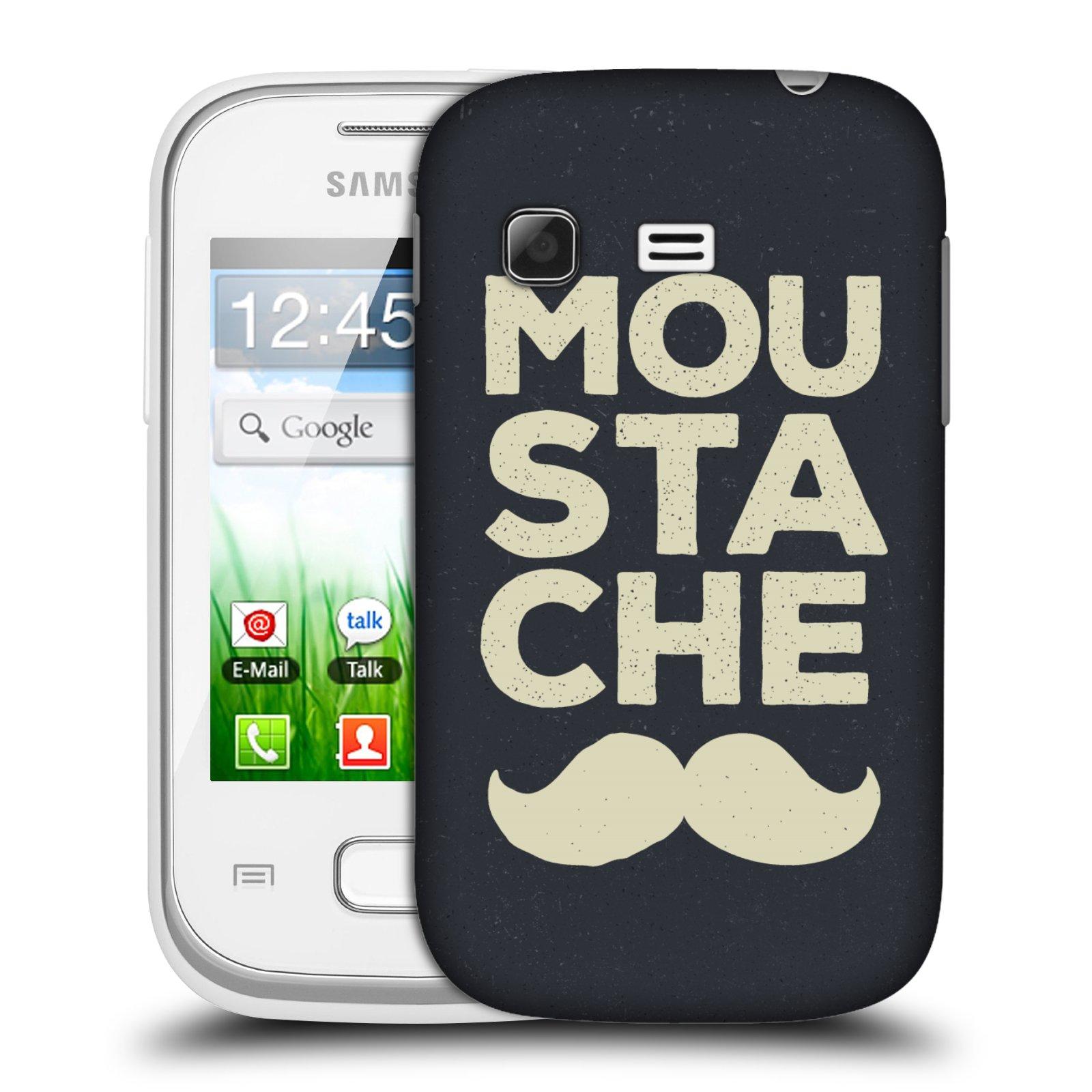 Plastové pouzdro na mobil Samsung Galaxy Pocket HEAD CASE KNÍR MOU STA CHE (Plastový kryt či obal na mobilní telefon Samsung Galaxy Pocket GT-S5300)