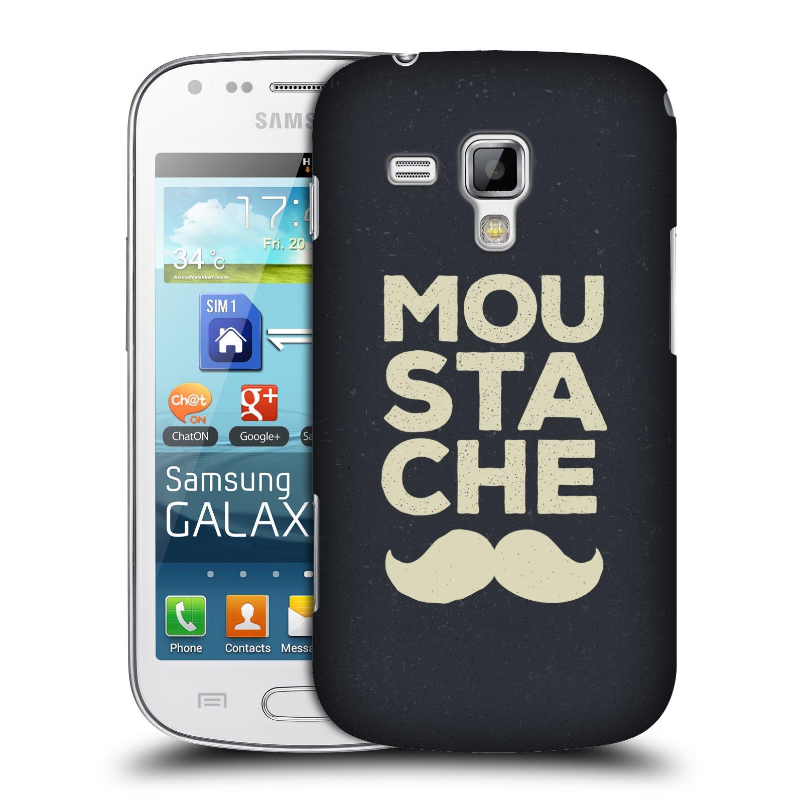 Plastové pouzdro na mobil Samsung Galaxy Trend Plus HEAD CASE KNÍR MOU STA CHE (Plastový kryt či obal na mobilní telefon Samsung Galaxy Trend Plus GT-S7580)