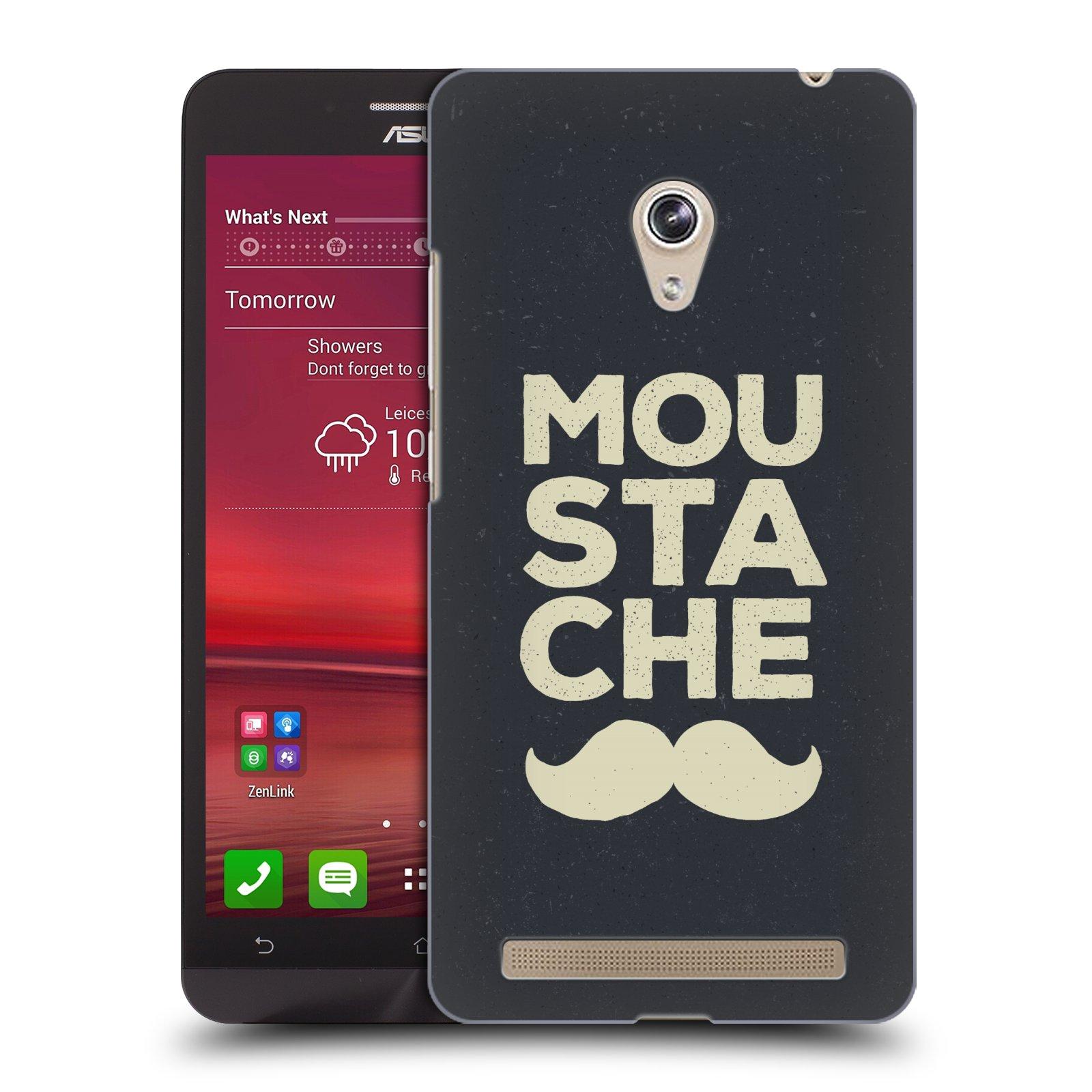 Plastové pouzdro na mobil Asus Zenfone 6 HEAD CASE KNÍR MOU STA CHE (Plastový kryt či obal na mobilní telefon Asus Zenfone 6 A600CG / A601CG)