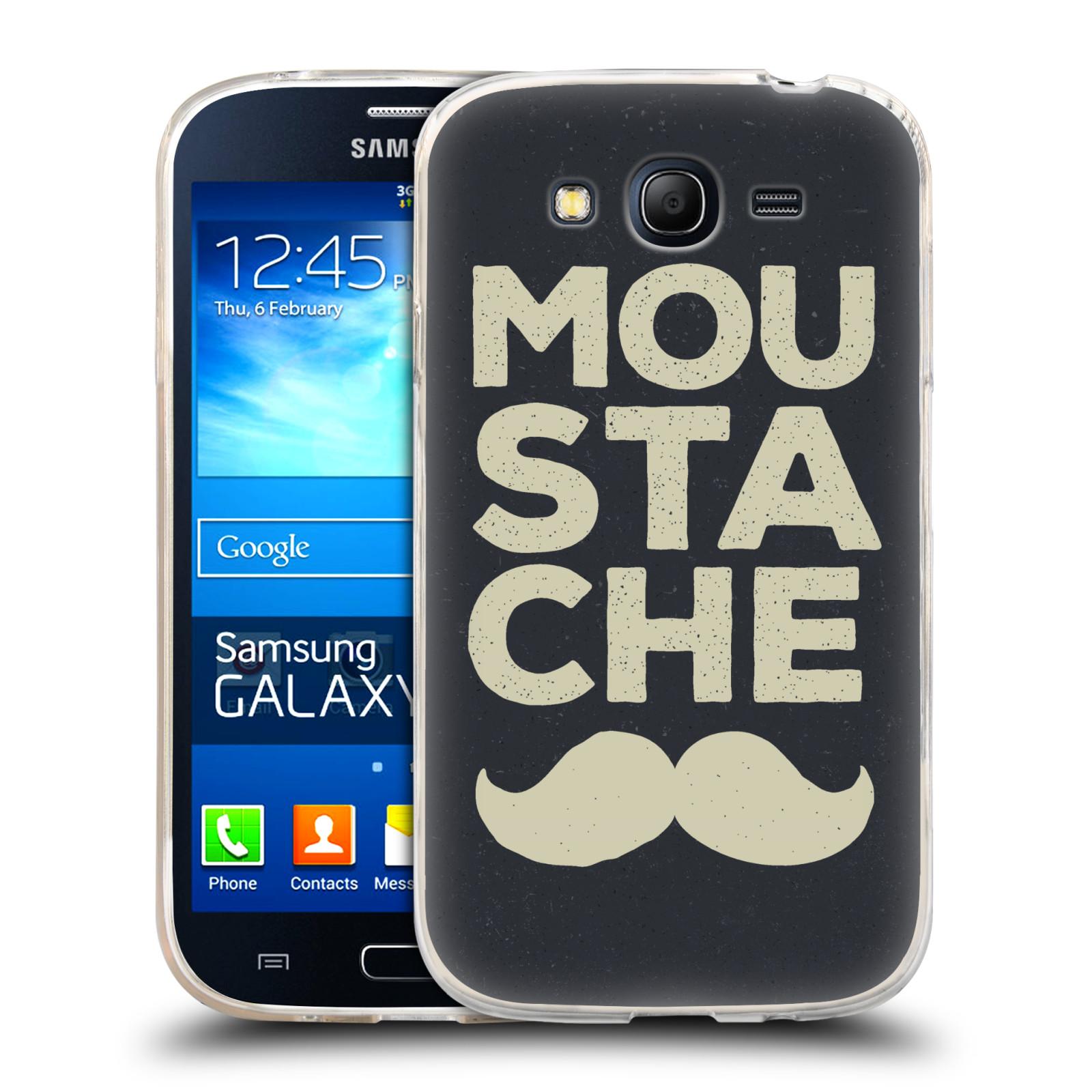 Silikonové pouzdro na mobil Samsung Galaxy Grand Neo HEAD CASE KNÍR MOU STA CHE (Silikonový kryt či obal na mobilní telefon Samsung Galaxy Grand Neo GT-I9060)