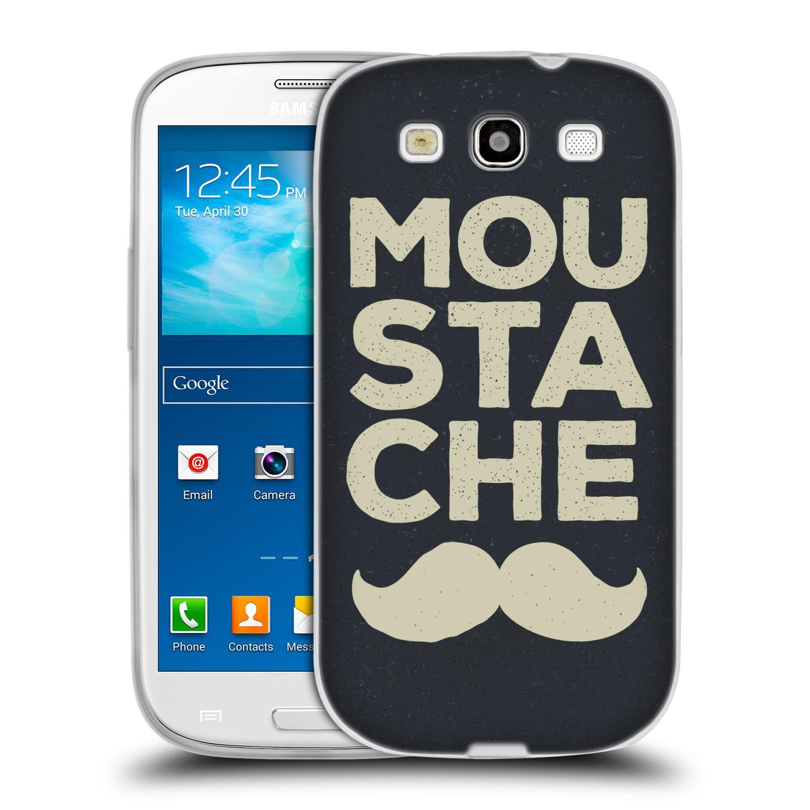 Silikonové pouzdro na mobil Samsung Galaxy S3 Neo HEAD CASE KNÍR MOU STA CHE (Silikonový kryt či obal na mobilní telefon Samsung Galaxy S3 Neo GT-i9301i)