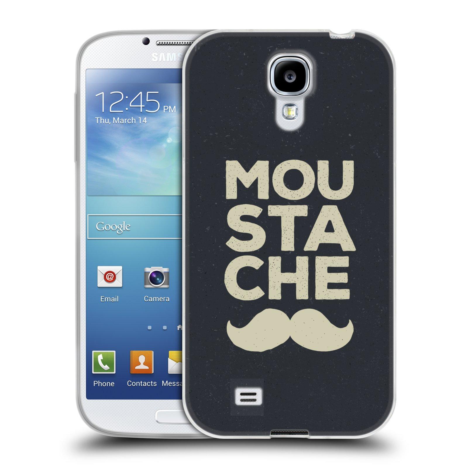 Silikonové pouzdro na mobil Samsung Galaxy S4 HEAD CASE KNÍR MOU STA CHE (Silikonový kryt či obal na mobilní telefon Samsung Galaxy S4 GT-i9505 / i9500)