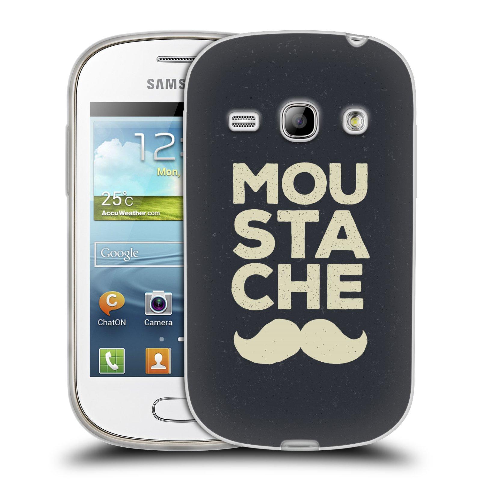 Silikonové pouzdro na mobil Samsung Galaxy Fame HEAD CASE KNÍR MOU STA CHE (Silikonový kryt či obal na mobilní telefon Samsung Galaxy Fame GT-S6810)