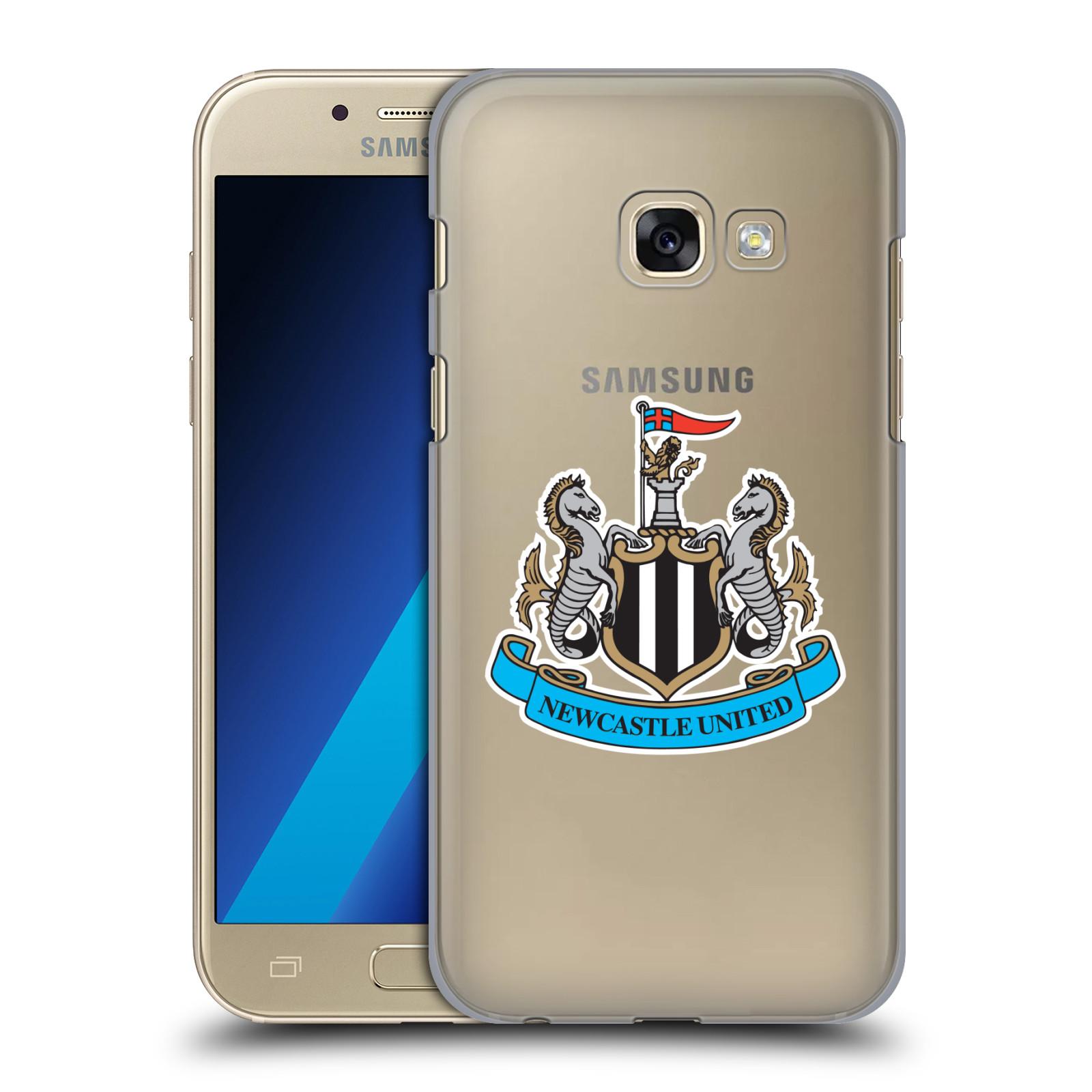 Plastové pouzdro na mobil Samsung Galaxy A3 (2017) HEAD CASE Newcastle United FC - Čiré