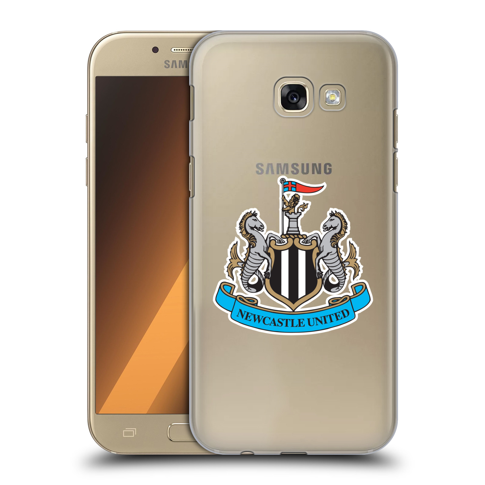 Plastové pouzdro na mobil Samsung Galaxy A5 (2017) HEAD CASE Newcastle United FC - Čiré