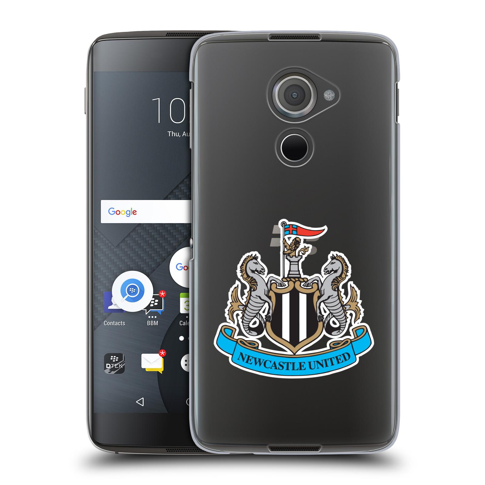 Plastové pouzdro na mobil Blackberry DTEK60 (Argon) - Head Case Newcastle United FC - Čiré