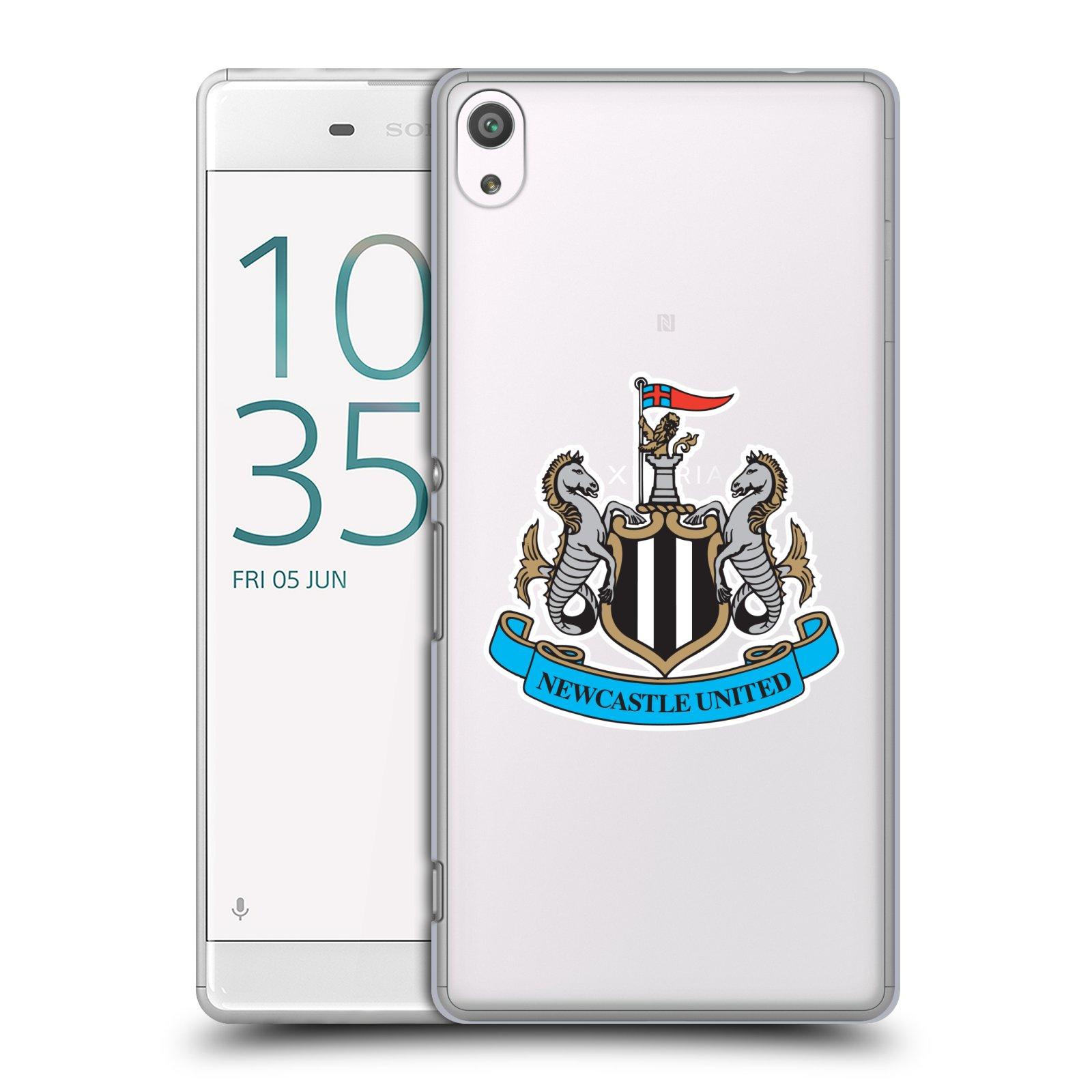 Plastové pouzdro na mobil Sony Xperia XA Ultra HEAD CASE Newcastle United FC - Čiré