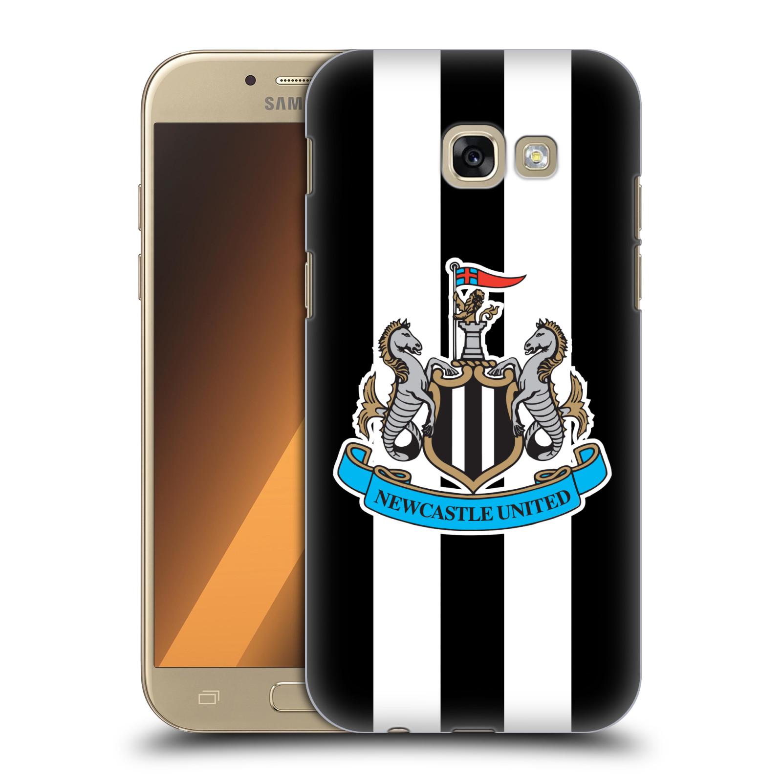 Plastové pouzdro na mobil Samsung Galaxy A5 (2017) HEAD CASE Newcastle United FC - Pruhy