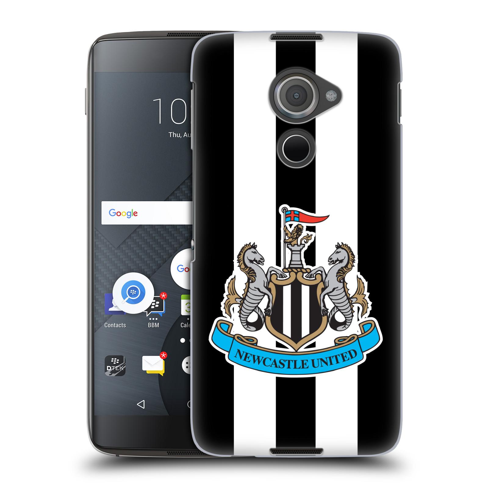 Plastové pouzdro na mobil Blackberry DTEK60 (Argon) - Head Case Newcastle United FC - Pruhy