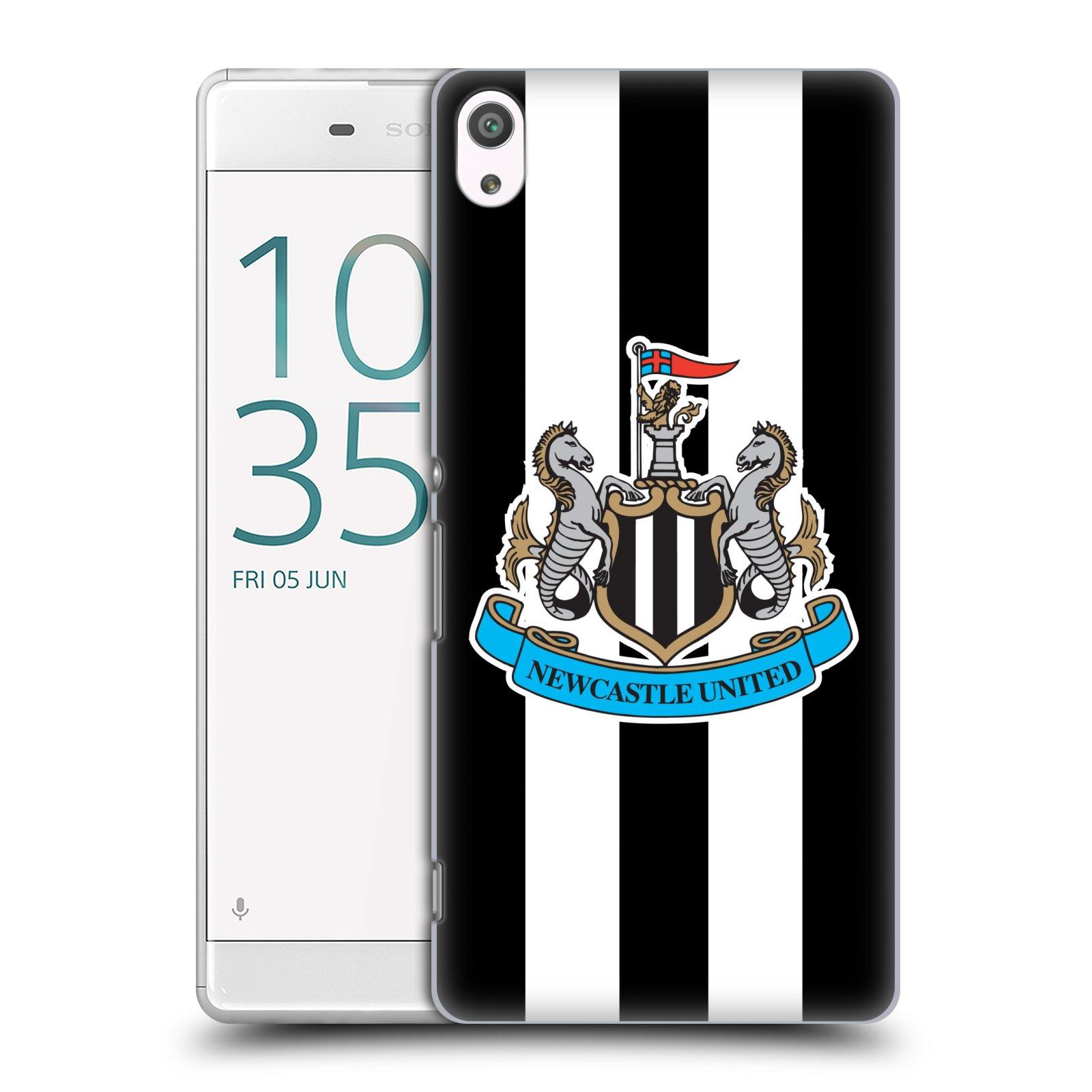 Plastové pouzdro na mobil Sony Xperia XA Ultra HEAD CASE Newcastle United FC - Pruhy