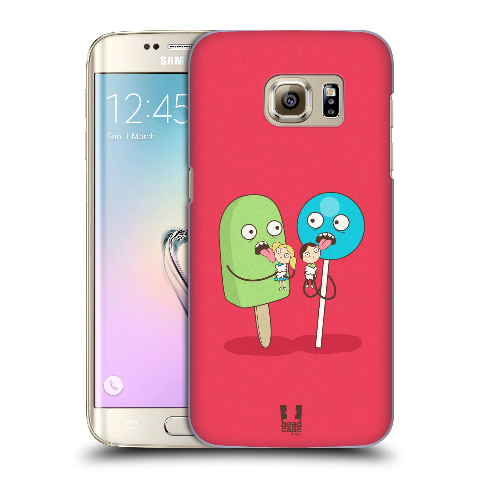 Plastové pouzdro na mobil Samsung Galaxy S7 Edge HEAD CASE DEN NARUBY LÍZÁTKA (Kryt či obal na mobilní telefon Samsung Galaxy S7 Edge SM-G935F)