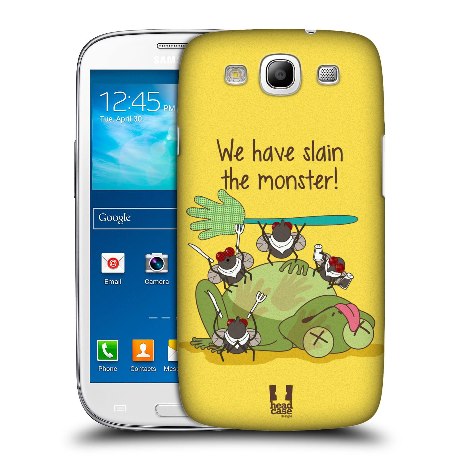 Plastové pouzdro na mobil Samsung Galaxy S III HEAD CASE DEN NARUBY ŽÁBA