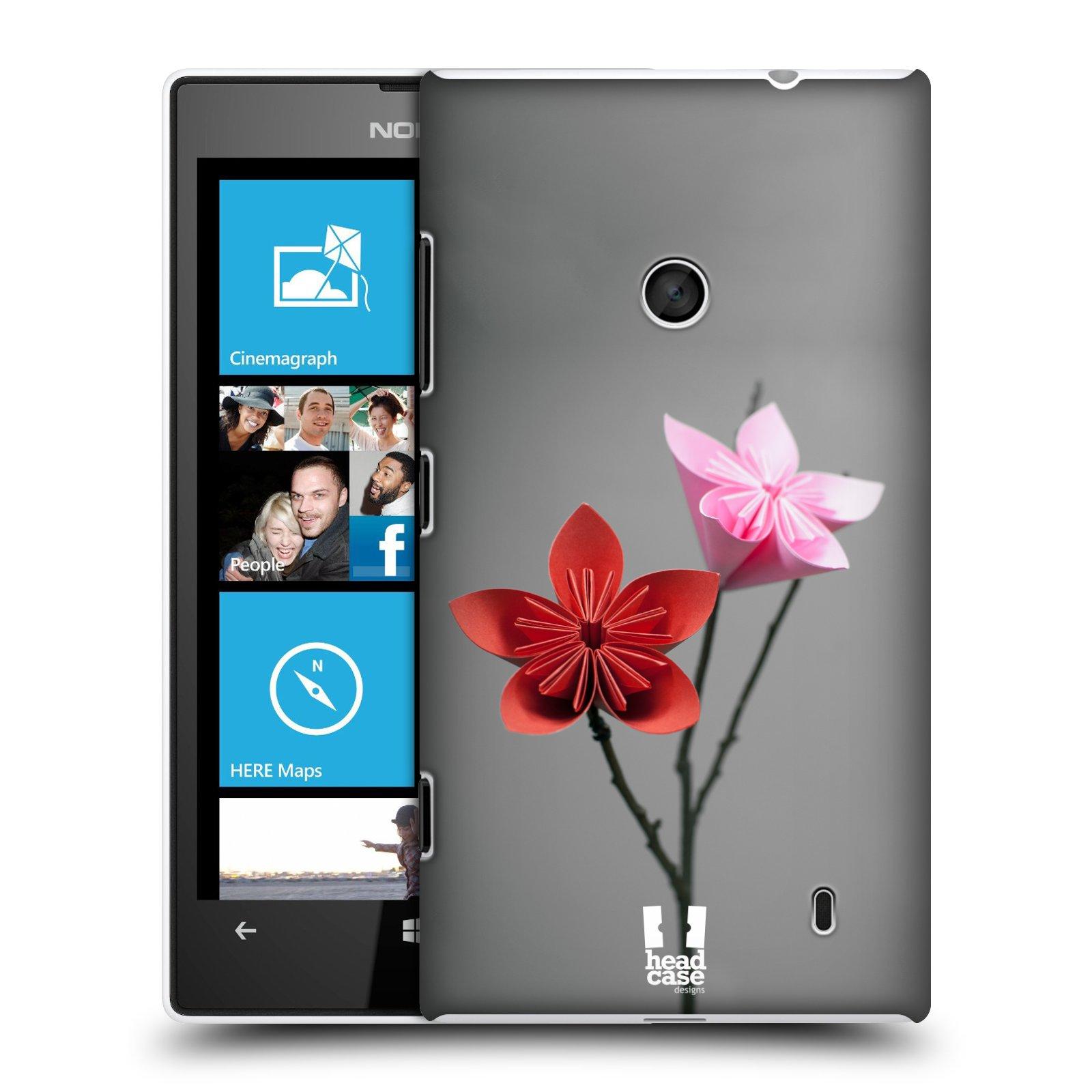 Plastové pouzdro na mobil Nokia Lumia 520 HEAD CASE KUSUDAMA (Kryt či obal na mobilní telefon Nokia Lumia 520 )