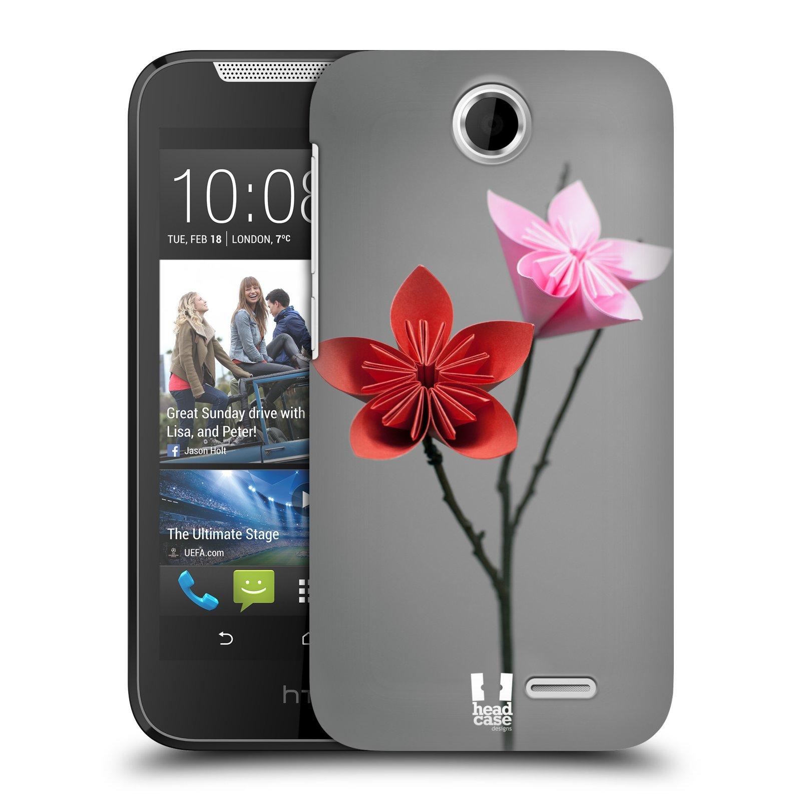 Plastové pouzdro na mobil HTC Desire 310 HEAD CASE KUSUDAMA (Kryt či obal na mobilní telefon HTC Desire 310)
