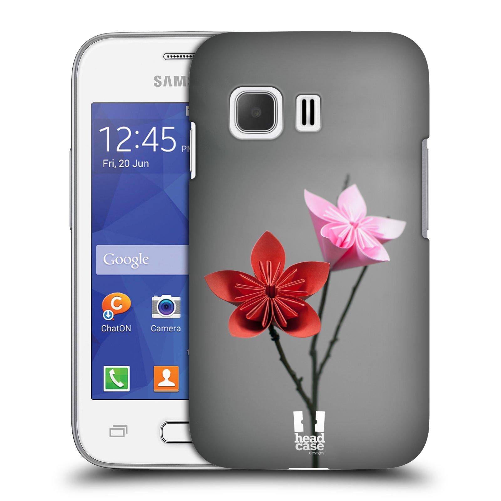 Plastové pouzdro na mobil Samsung Galaxy Young 2 HEAD CASE KUSUDAMA (Kryt či obal na mobilní telefon Samsung Galaxy Young 2 SM-G130)