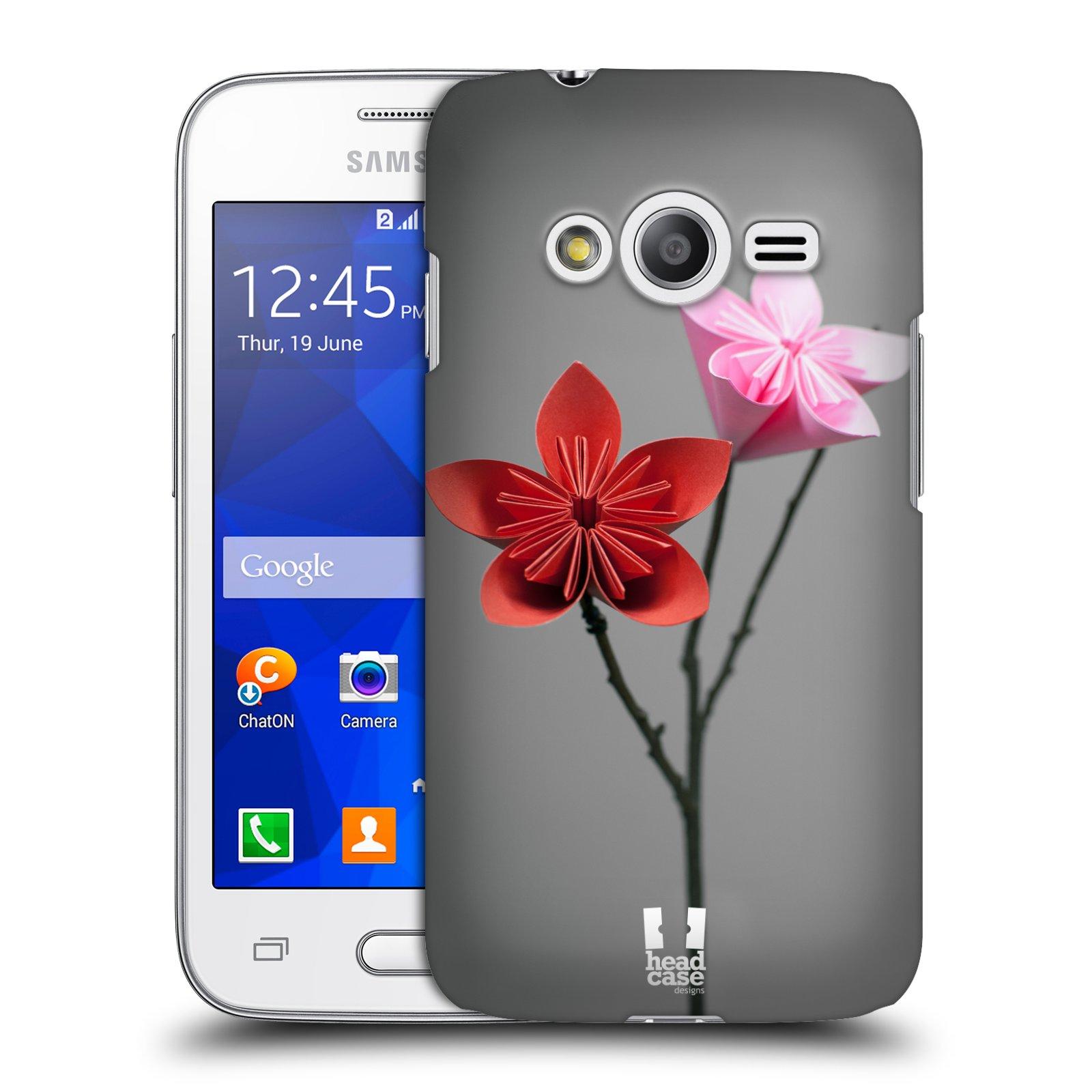 Plastové pouzdro na mobil Samsung Galaxy Trend 2 Lite HEAD CASE KUSUDAMA (Kryt či obal na mobilní telefon Samsung Galaxy Trend 2 Lite SM-G318)