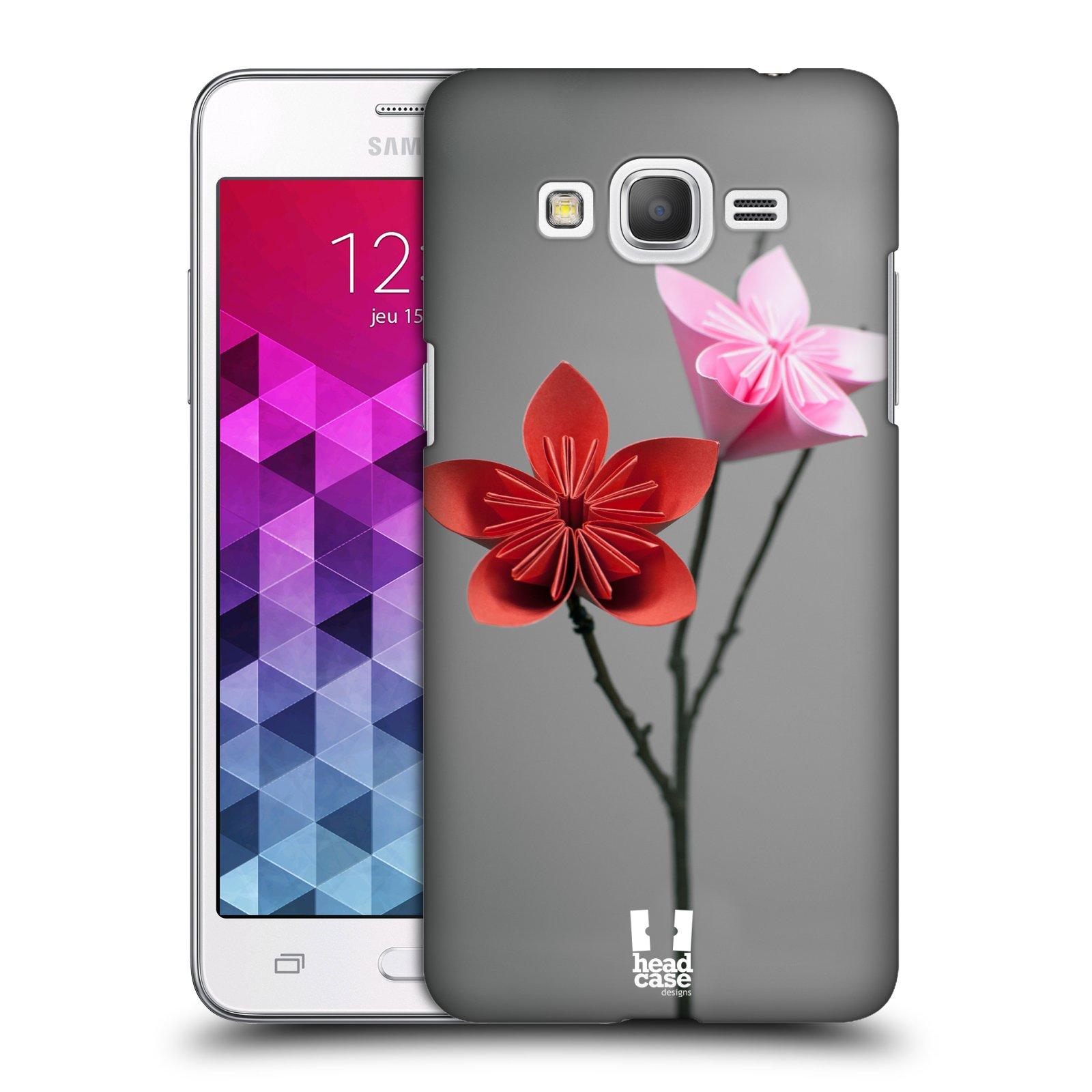 Plastové pouzdro na mobil Samsung Galaxy Grand Prime VE HEAD CASE KUSUDAMA