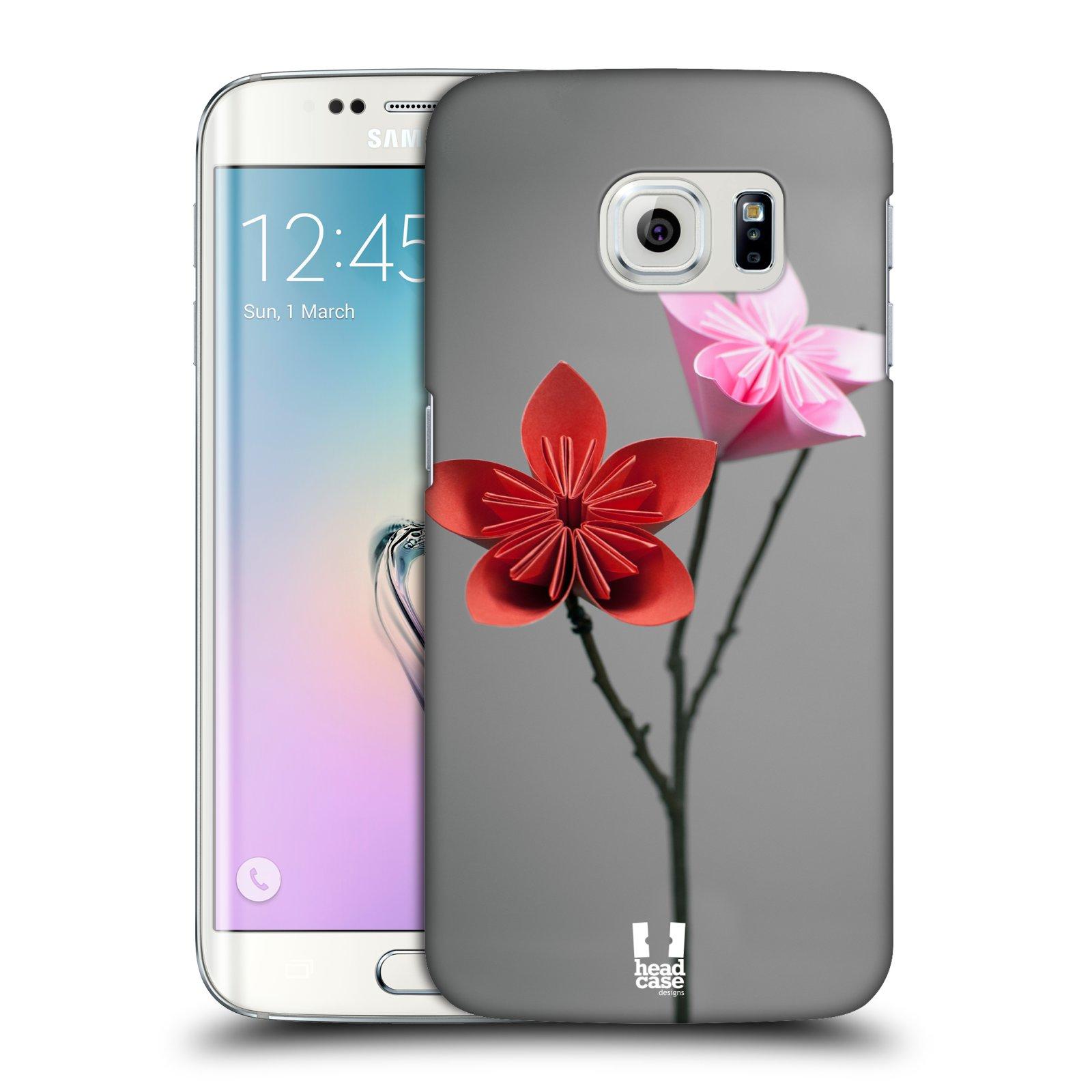 Plastové pouzdro na mobil Samsung Galaxy S6 Edge HEAD CASE KUSUDAMA (Kryt či obal na mobilní telefon Samsung Galaxy S6 Edge SM-G925F)