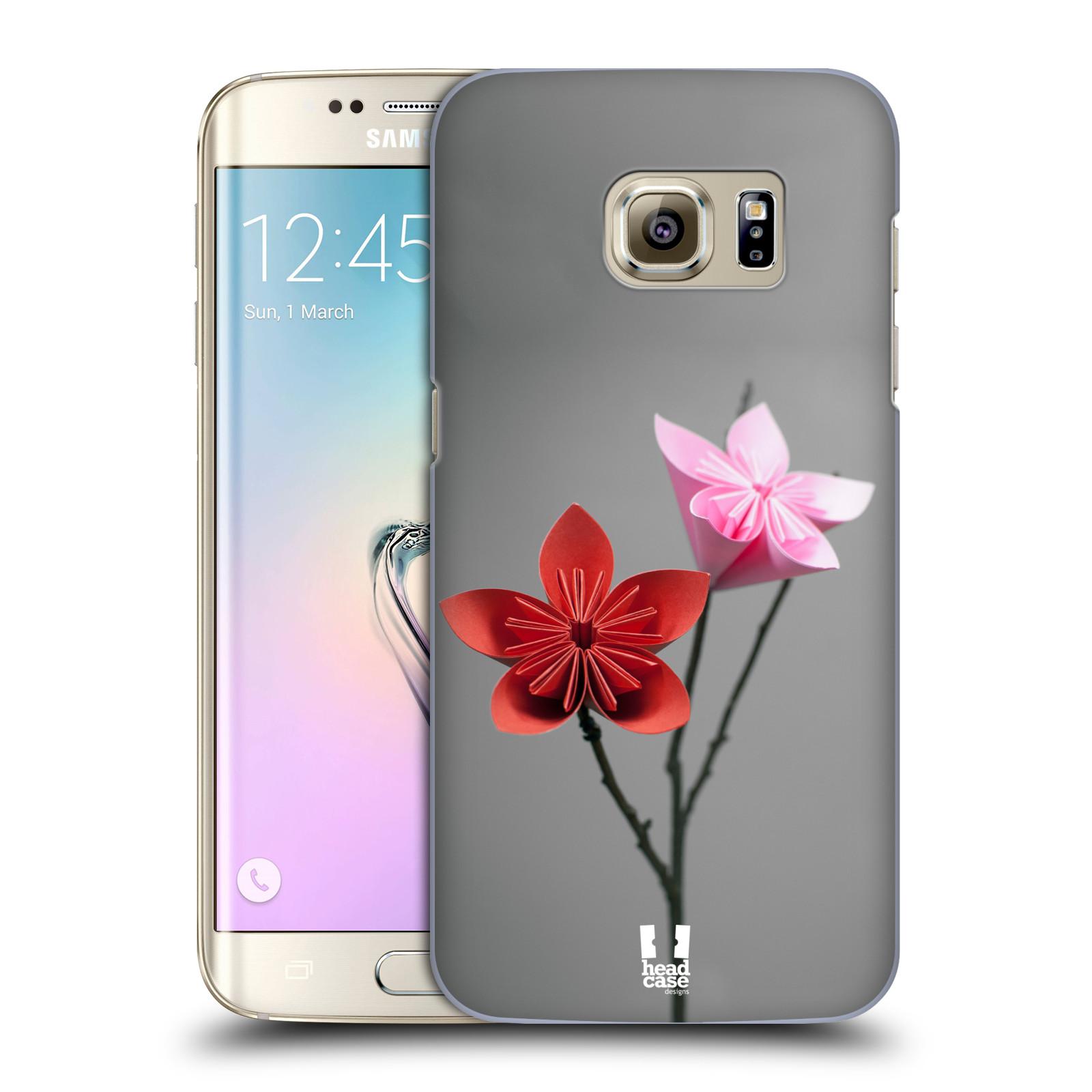 Plastové pouzdro na mobil Samsung Galaxy S7 Edge HEAD CASE KUSUDAMA (Kryt či obal na mobilní telefon Samsung Galaxy S7 Edge SM-G935F)