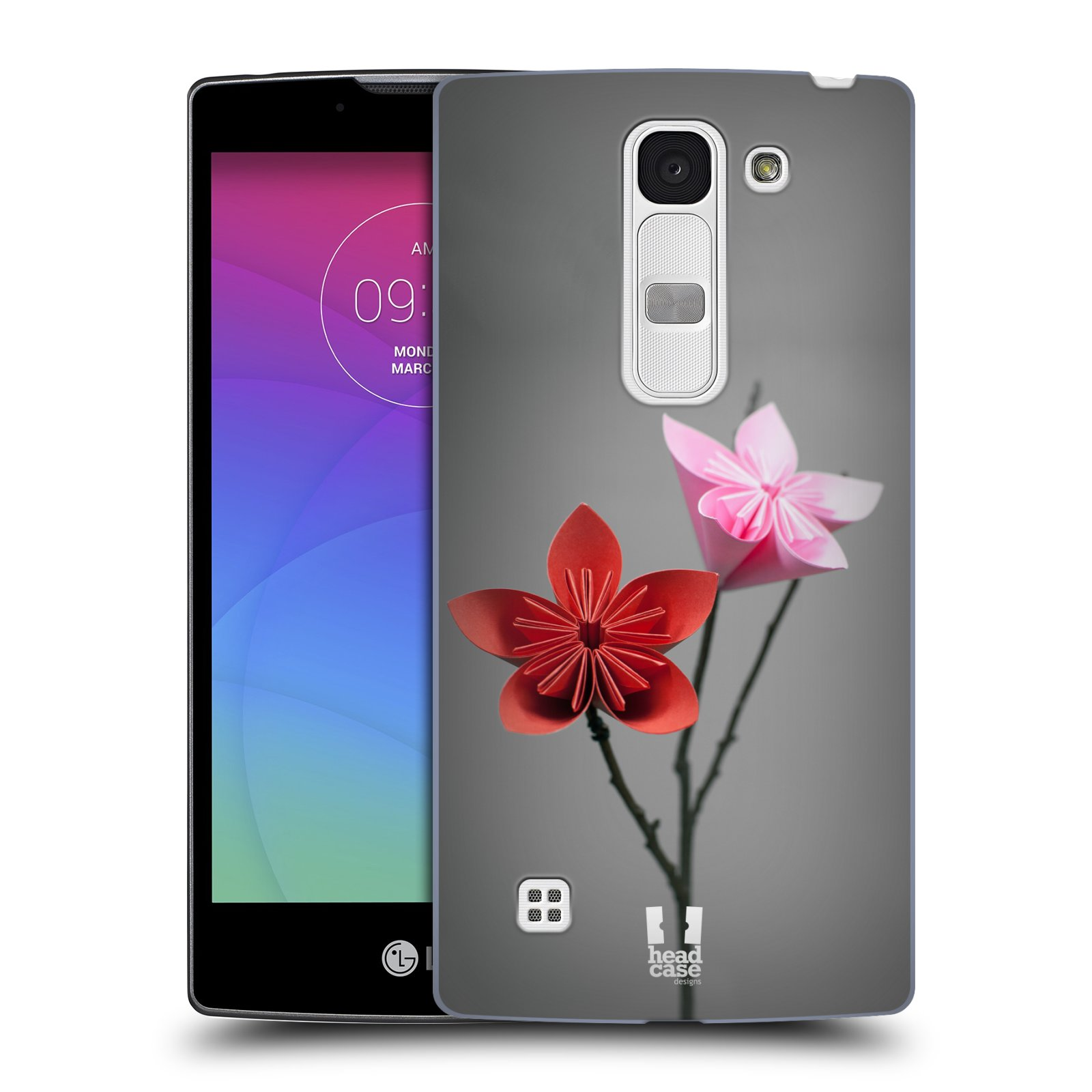 Plastové pouzdro na mobil LG Spirit LTE HEAD CASE KUSUDAMA (Kryt či obal na mobilní telefon LG Spirit H420 a LG Spirit LTE H440N)