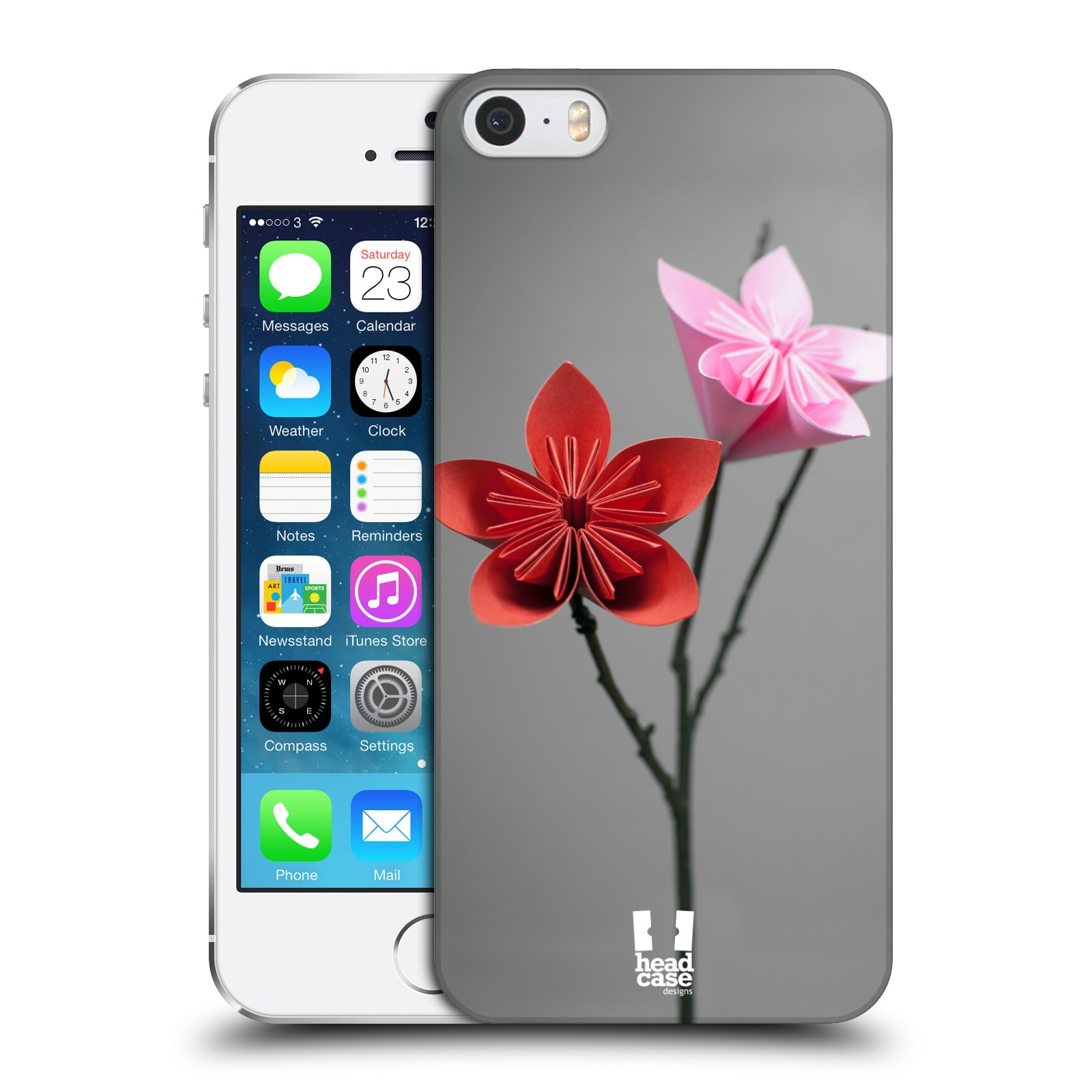 Plastové pouzdro na mobil Apple iPhone SE, 5 a 5S HEAD CASE KUSUDAMA