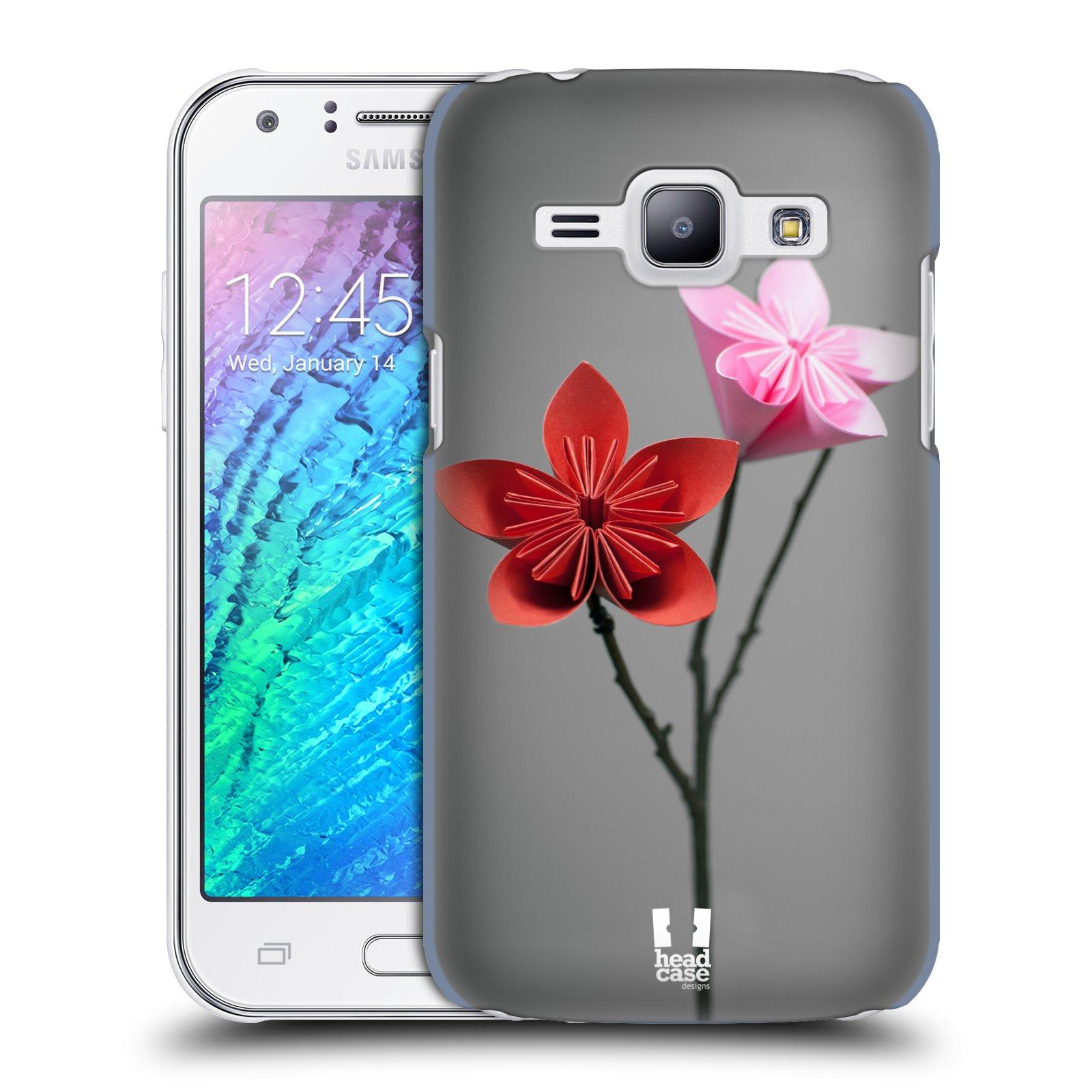 Plastové pouzdro na mobil Samsung Galaxy J1 HEAD CASE KUSUDAMA (Kryt či obal na mobilní telefon Samsung Galaxy J1 a J1 Duos )