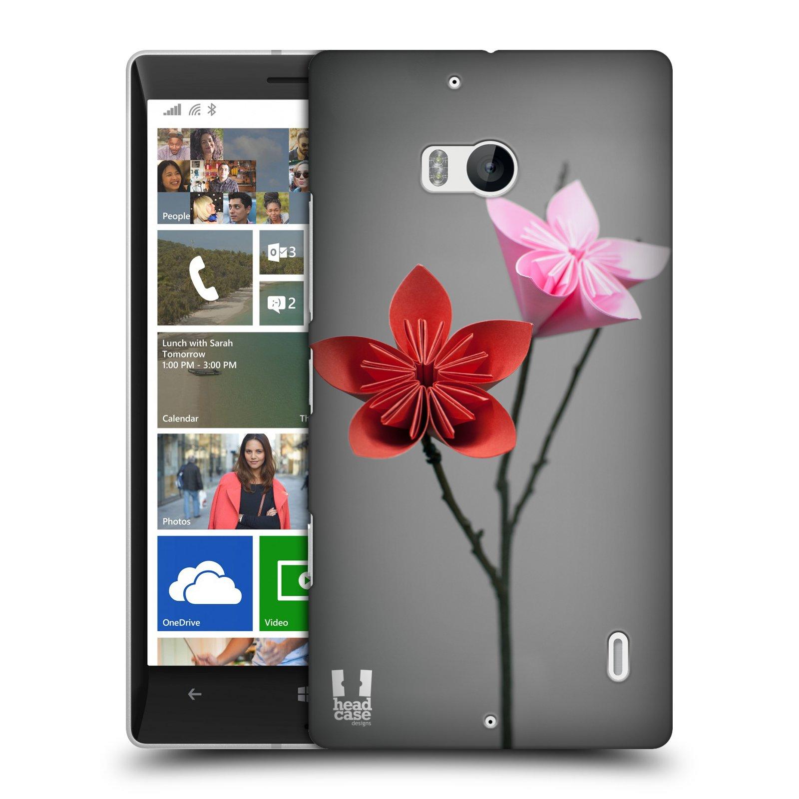 Plastové pouzdro na mobil Nokia Lumia 930 HEAD CASE KUSUDAMA (Kryt či obal na mobilní telefon Nokia Lumia 930)