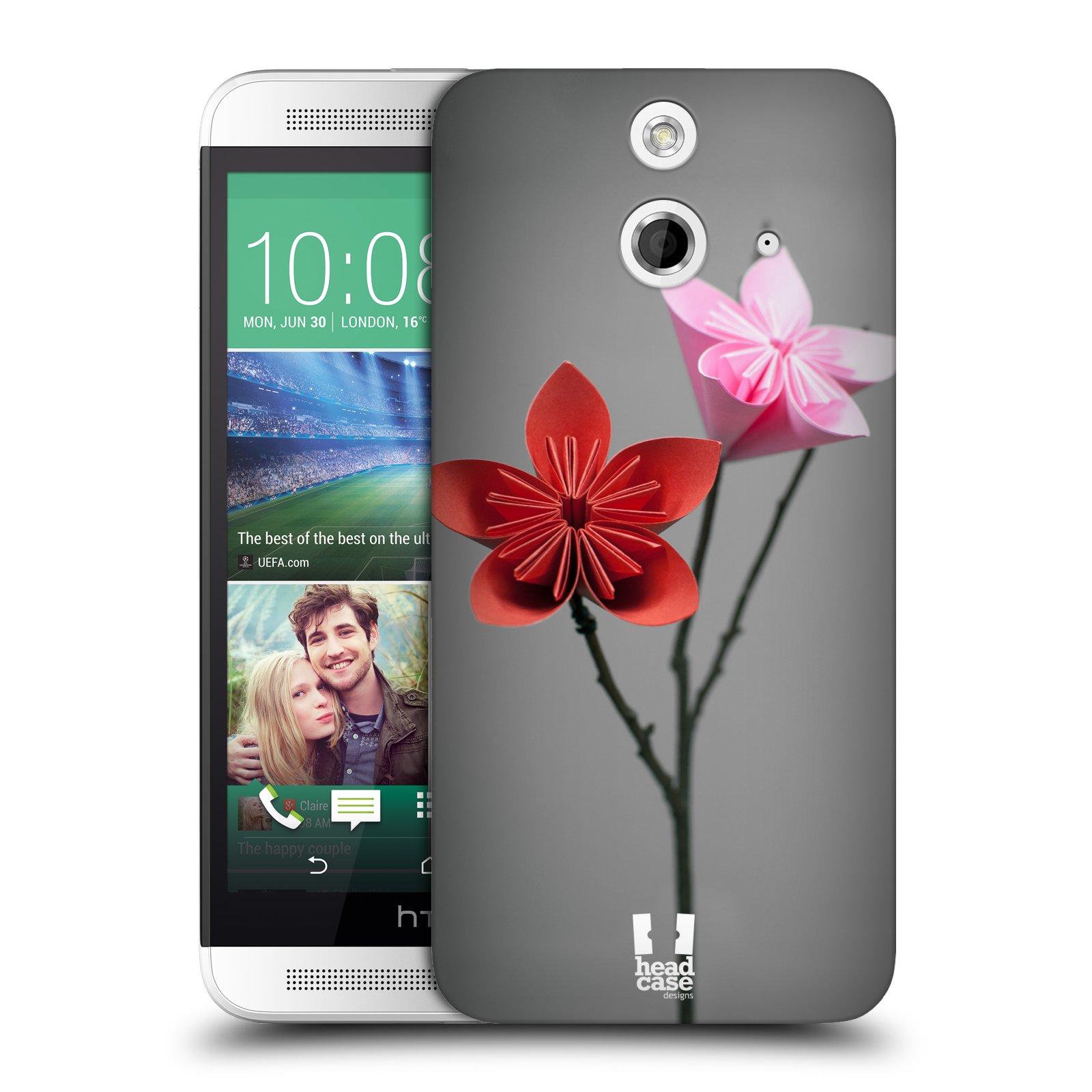 Plastové pouzdro na mobil HTC ONE E8 HEAD CASE KUSUDAMA (Kryt či obal na mobilní telefon HTC ONE E8)