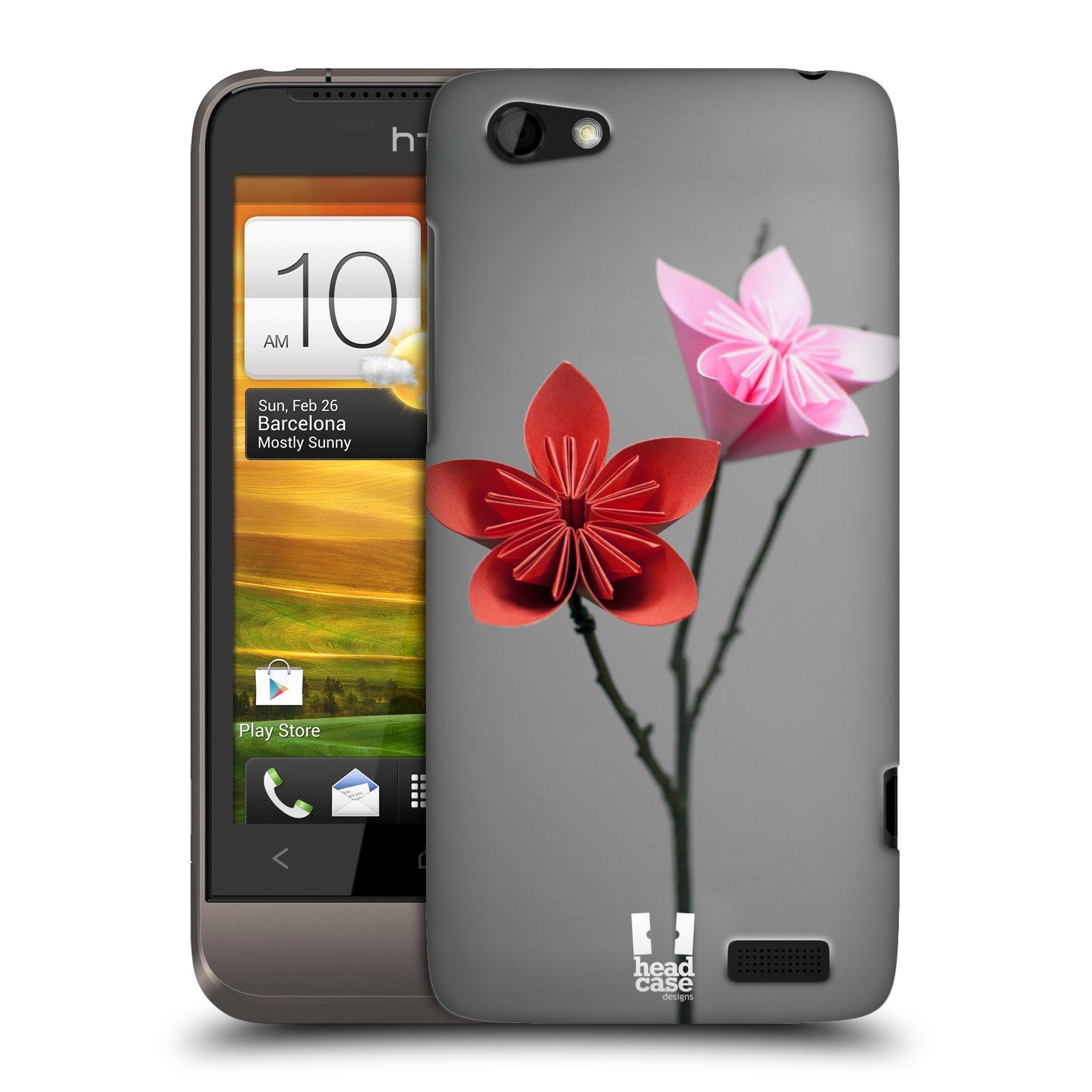 Plastové pouzdro na mobil HTC ONE V HEAD CASE KUSUDAMA (Kryt či obal na mobilní telefon HTC ONE V)