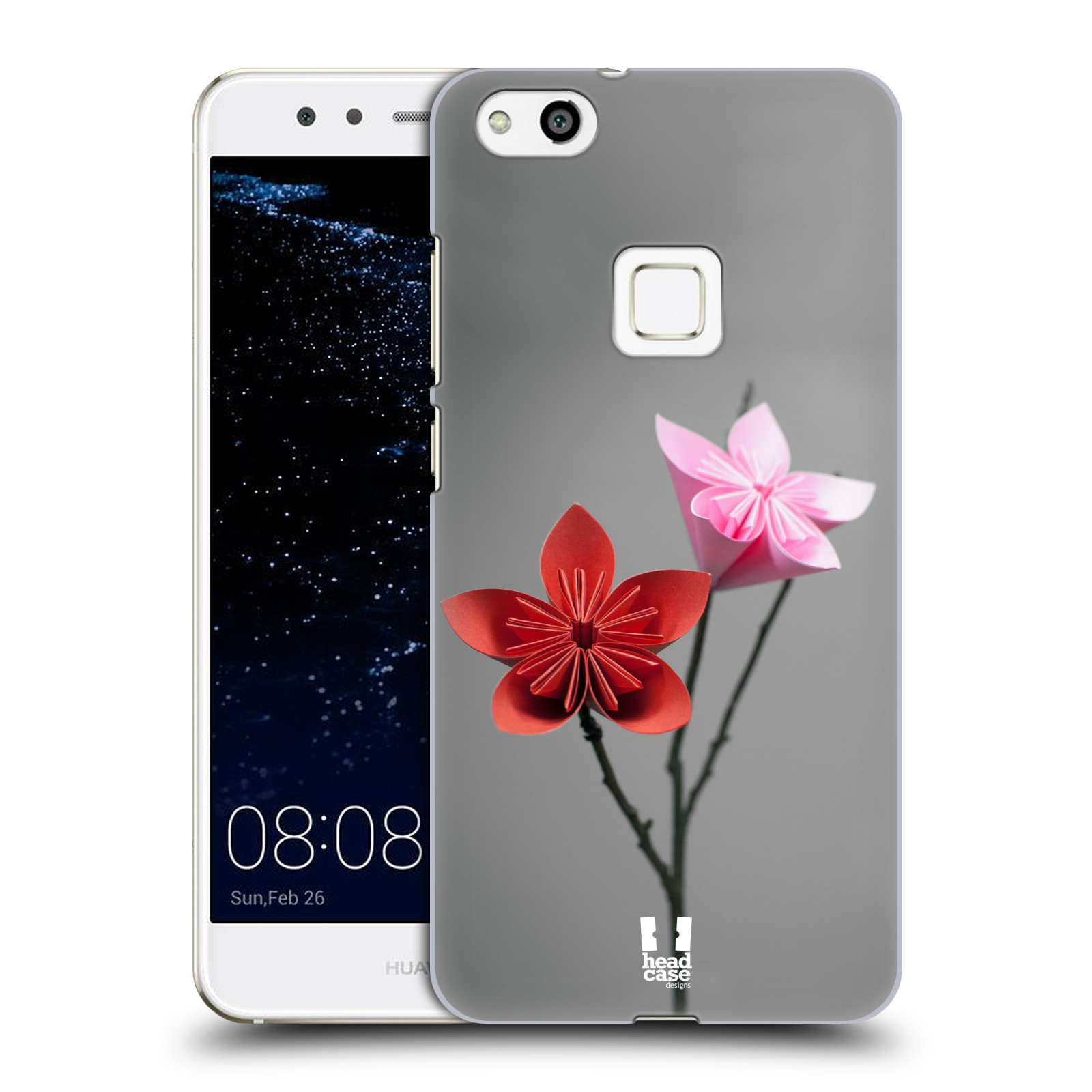 Plastové pouzdro na mobil Huawei P10 Lite Head Case - KUSUDAMA (Plastový kryt či obal na mobilní telefon Huawei P10 Lite Dual SIM (LX1/LX1A))