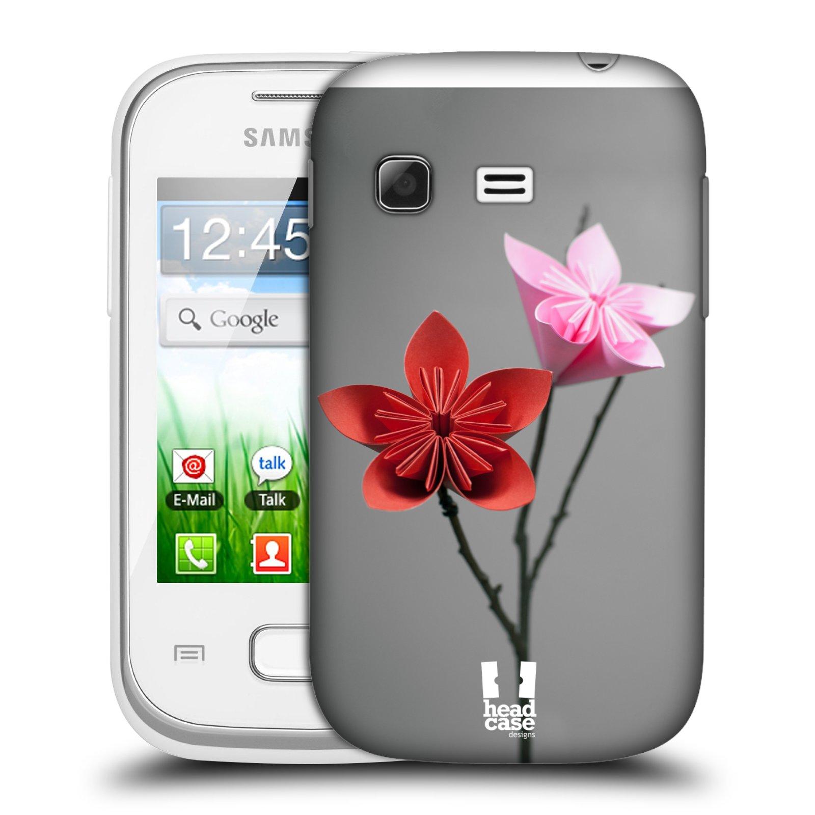 Plastové pouzdro na mobil Samsung Galaxy Pocket HEAD CASE KUSUDAMA (Kryt či obal na mobilní telefon Samsung Galaxy Pocket GT-S5300)