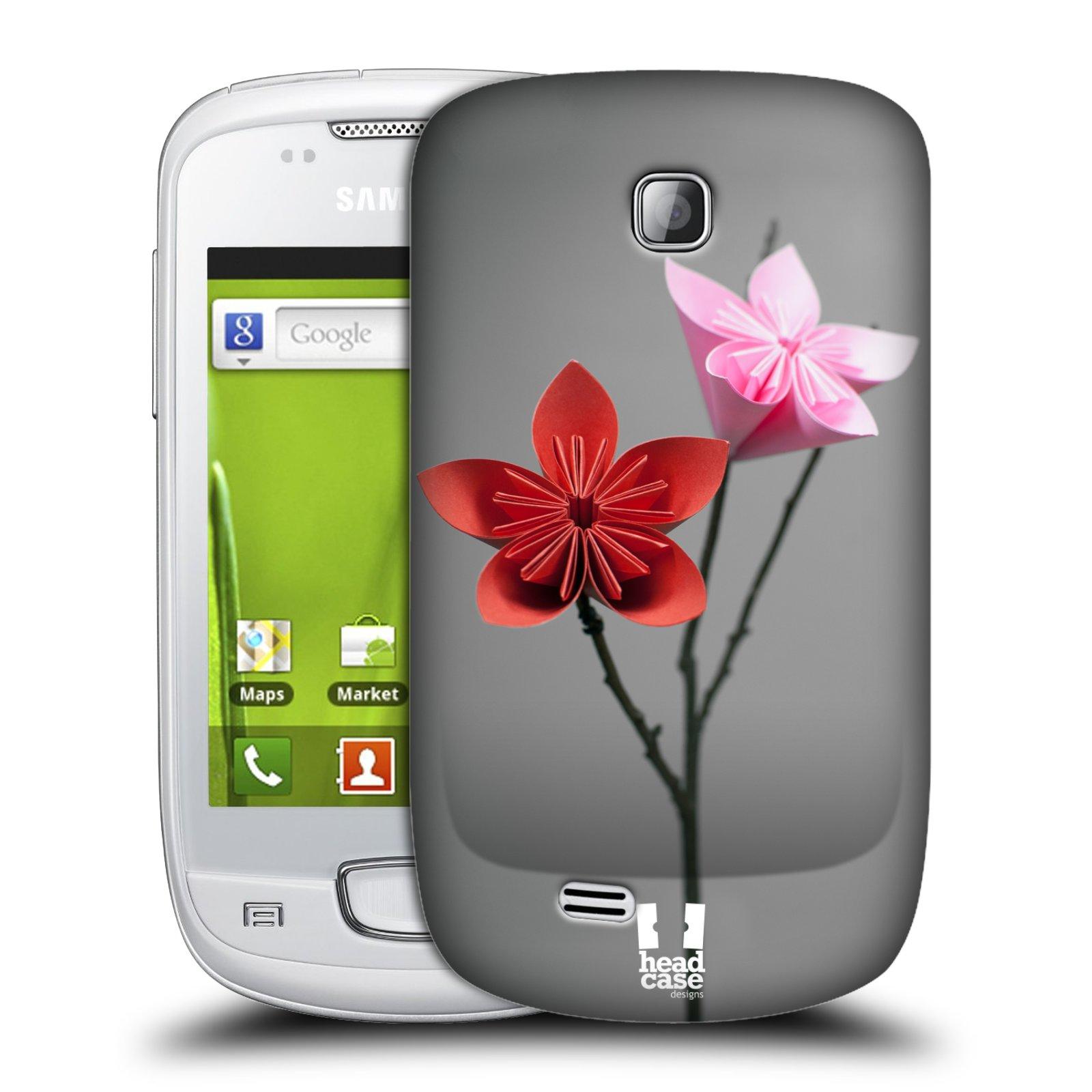 Plastové pouzdro na mobil Samsung Galaxy Mini HEAD CASE KUSUDAMA (Kryt či obal na mobilní telefon Samsung Galaxy Mini GT-S5570 / GT-S5570i)
