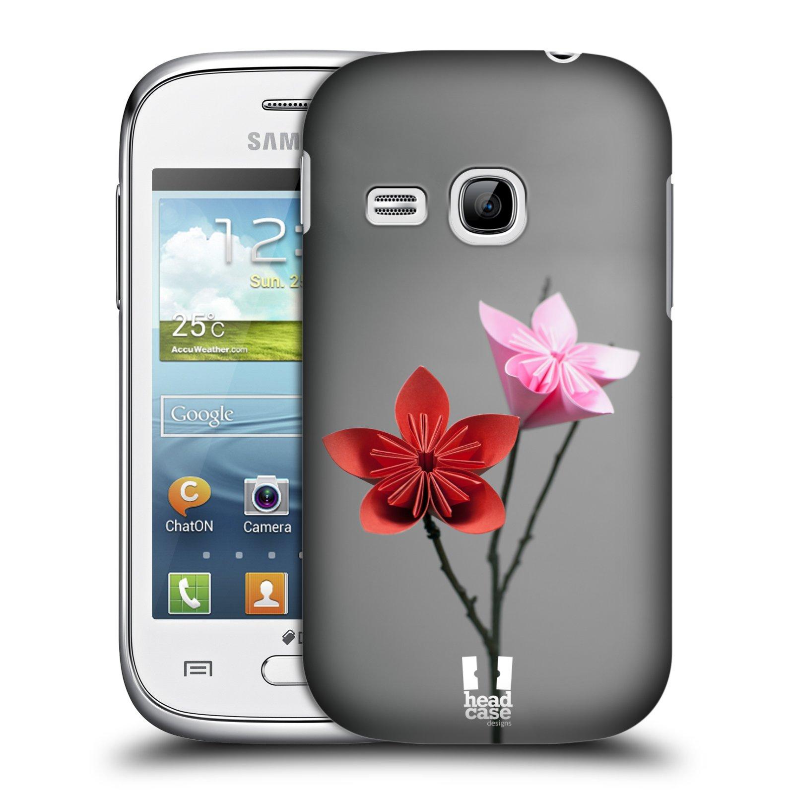 Plastové pouzdro na mobil Samsung Galaxy Young HEAD CASE KUSUDAMA (Kryt či obal na mobilní telefon Samsung Galaxy Young GT-S6310)
