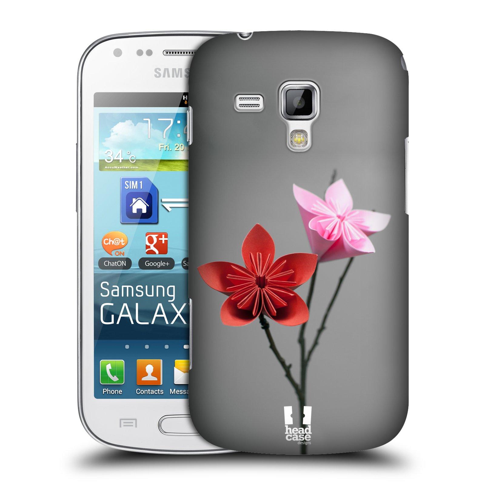 Plastové pouzdro na mobil Samsung Galaxy S Duos HEAD CASE KUSUDAMA (Kryt či obal na mobilní telefon Samsung Galaxy S Duos GT-S7562)