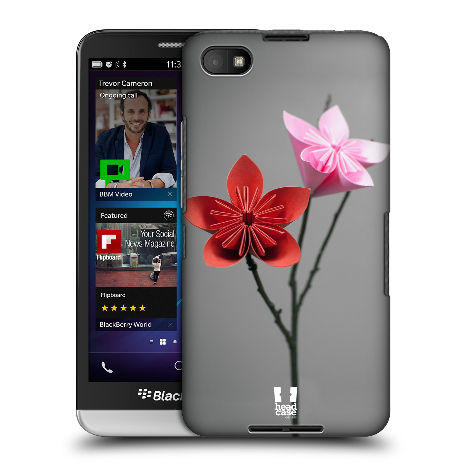 Plastové pouzdro na mobil Blackberry Z30 HEAD CASE KUSUDAMA (Kryt či obal na mobilní telefon Blackberry Z30)