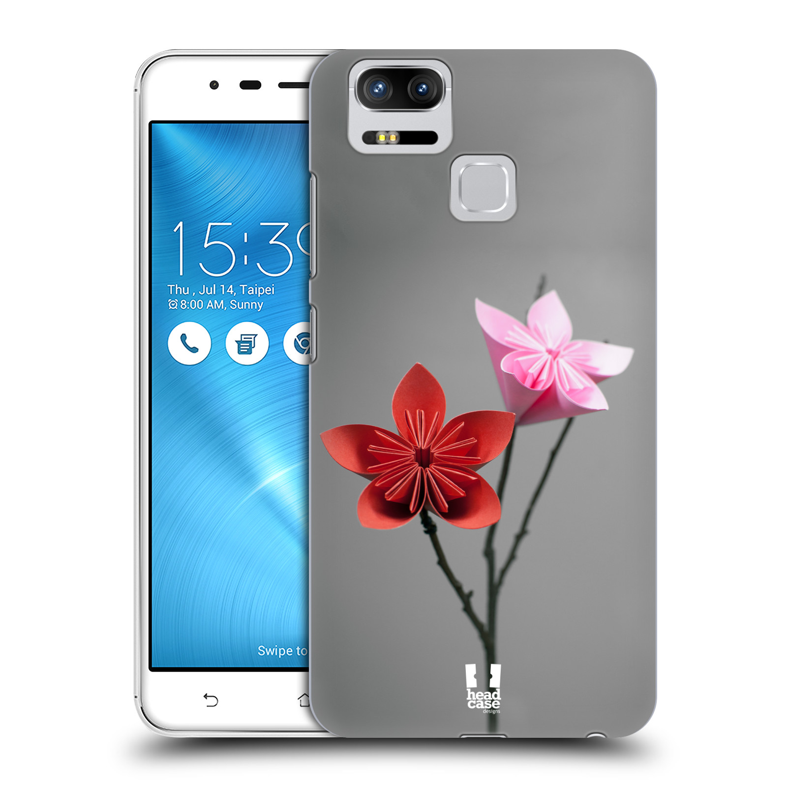 Plastové pouzdro na mobil Asus ZenFone 3 ZOOM ZE553KL - Head Case - KUSUDAMA (Plastový kryt či obal na mobilní telefon Asus ZenFone 3 ZOOM ZE553KL s motivem KUSUDAMA)