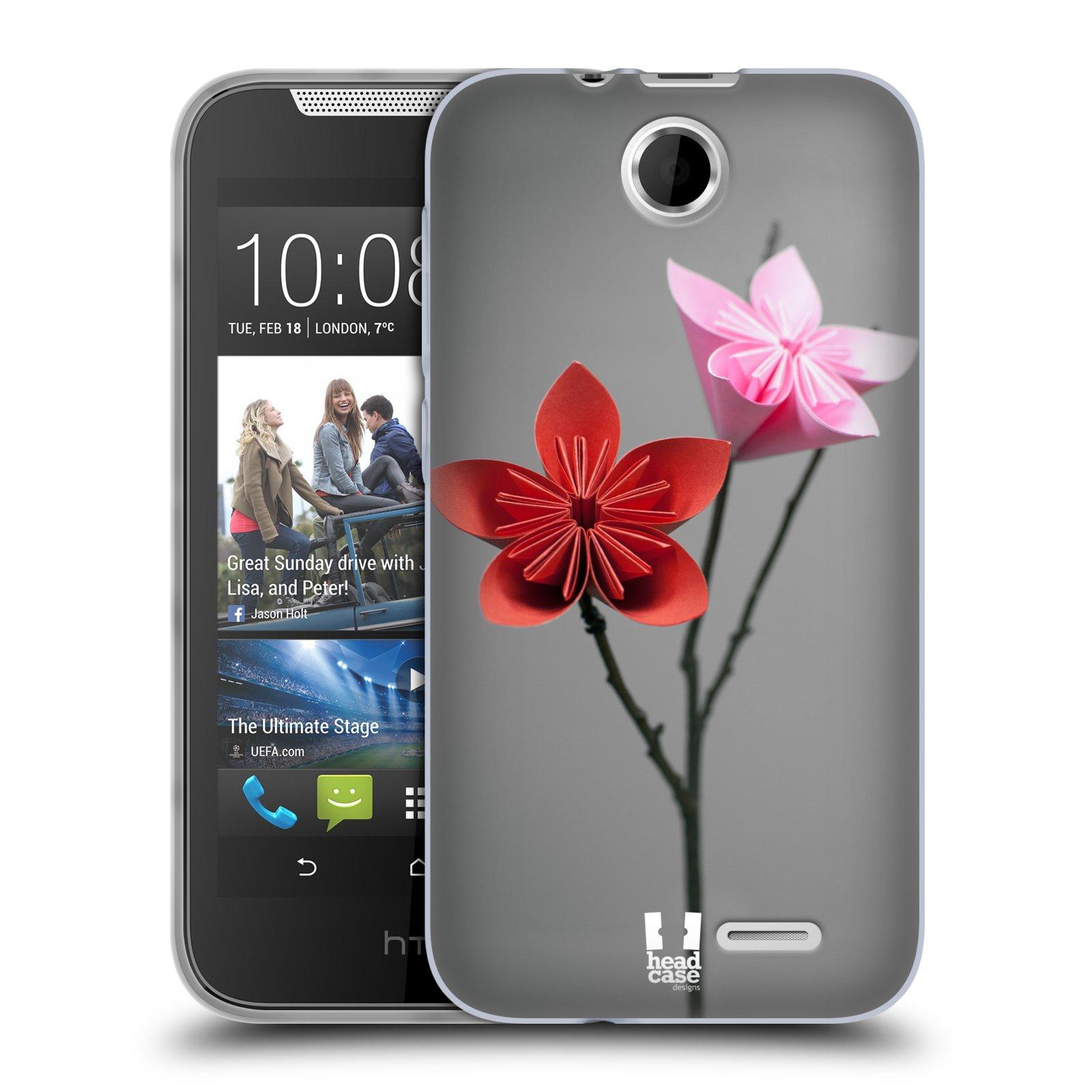 Silikonové pouzdro na mobil HTC Desire 310 HEAD CASE KUSUDAMA (Silikonový kryt či obal na mobilní telefon HTC Desire 310)