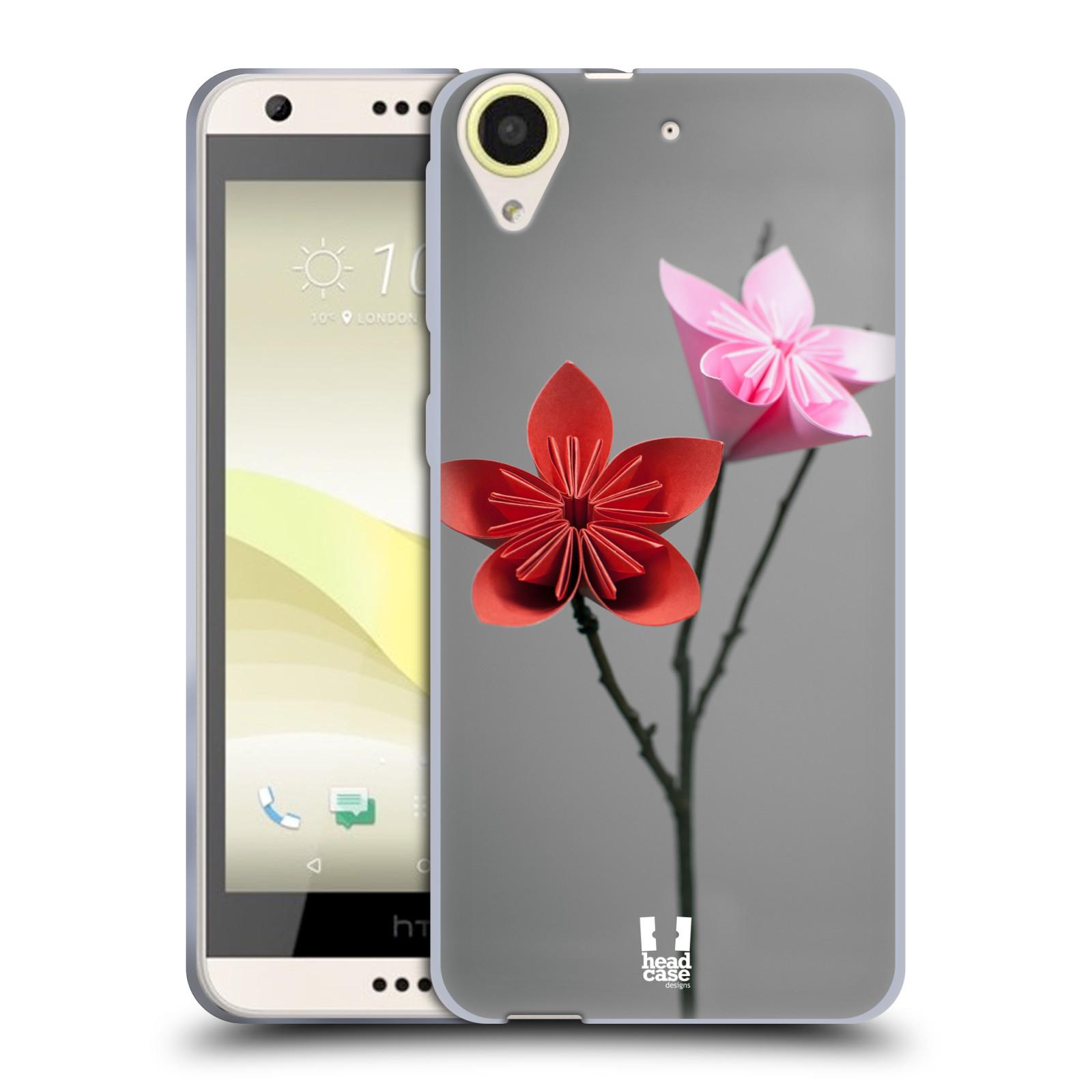 Silikonové pouzdro na mobil HTC Desire 650 HEAD CASE KUSUDAMA (Silikonový kryt či obal na mobilní telefon HTC Desire 650)