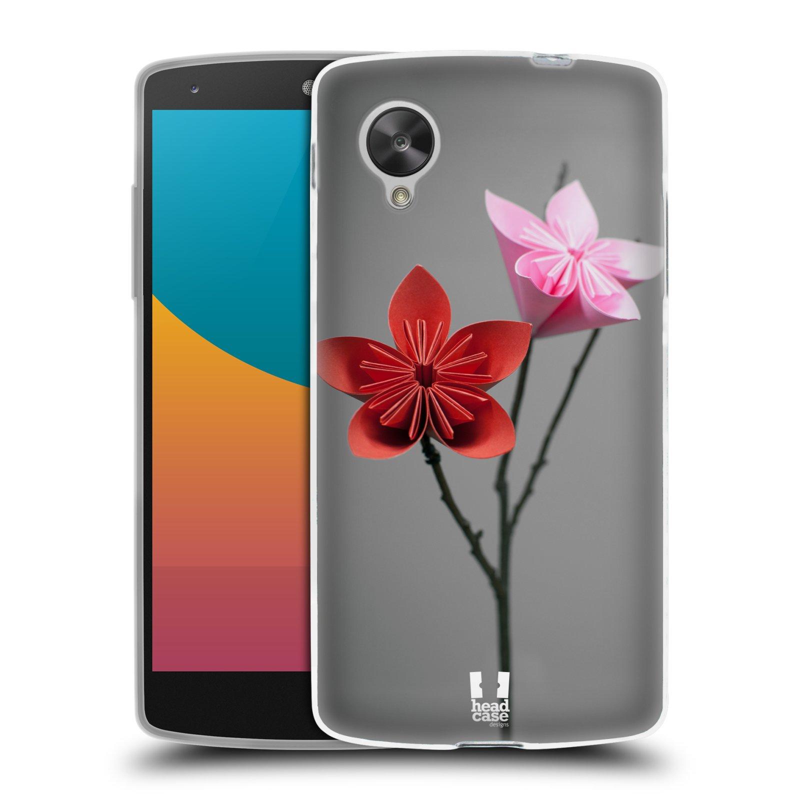 Silikonové pouzdro na mobil LG Nexus 5 HEAD CASE KUSUDAMA (Silikonový kryt či obal na mobilní telefon LG Google Nexus 5 D821)