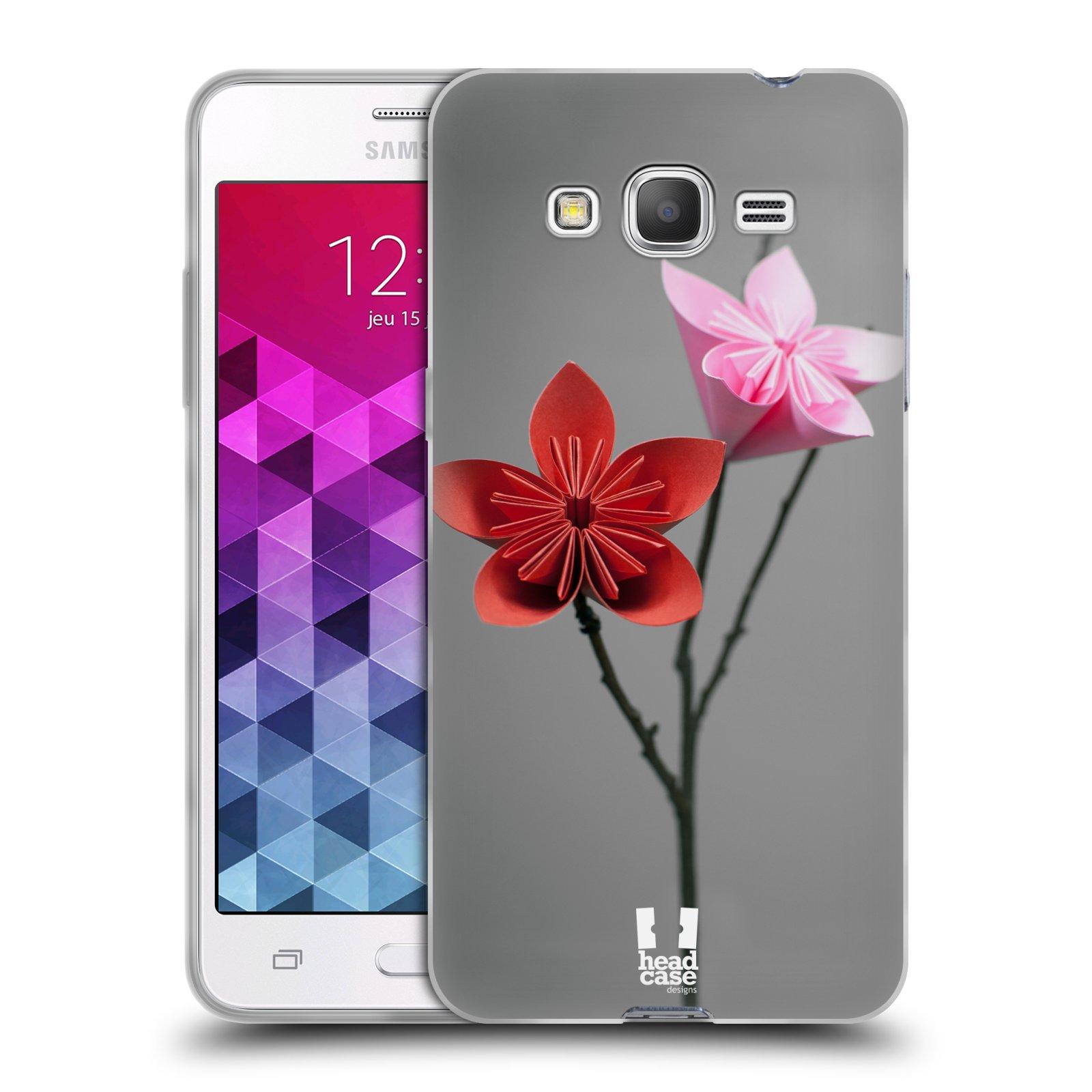 Silikonové pouzdro na mobil Samsung Galaxy Grand Prime VE HEAD CASE KUSUDAMA (Silikonový kryt či obal na mobilní telefon Samsung Galaxy Grand Prime VE SM-G531F)