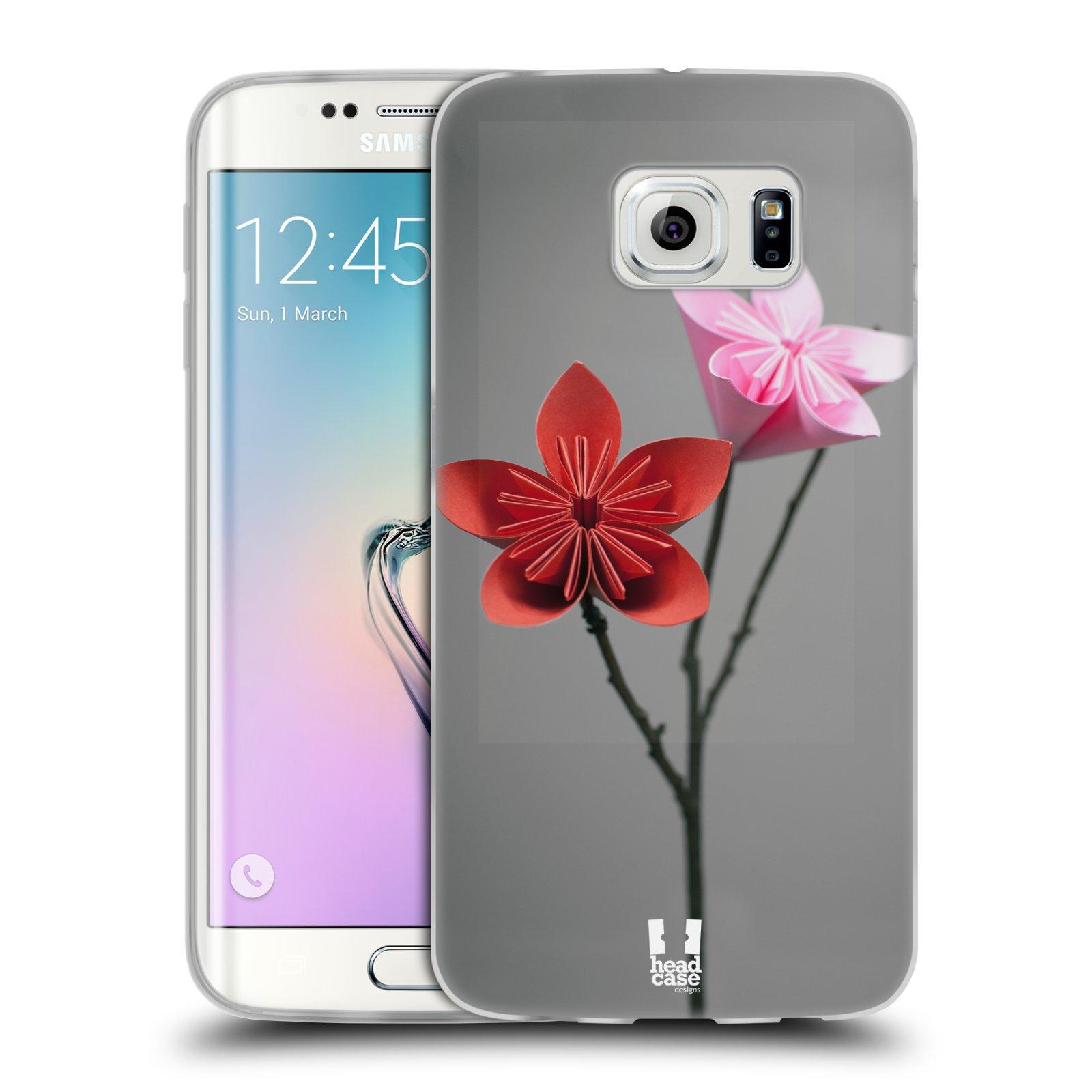 Silikonové pouzdro na mobil Samsung Galaxy S6 Edge HEAD CASE KUSUDAMA (Silikonový kryt či obal na mobilní telefon Samsung Galaxy S6 Edge SM-G925F)