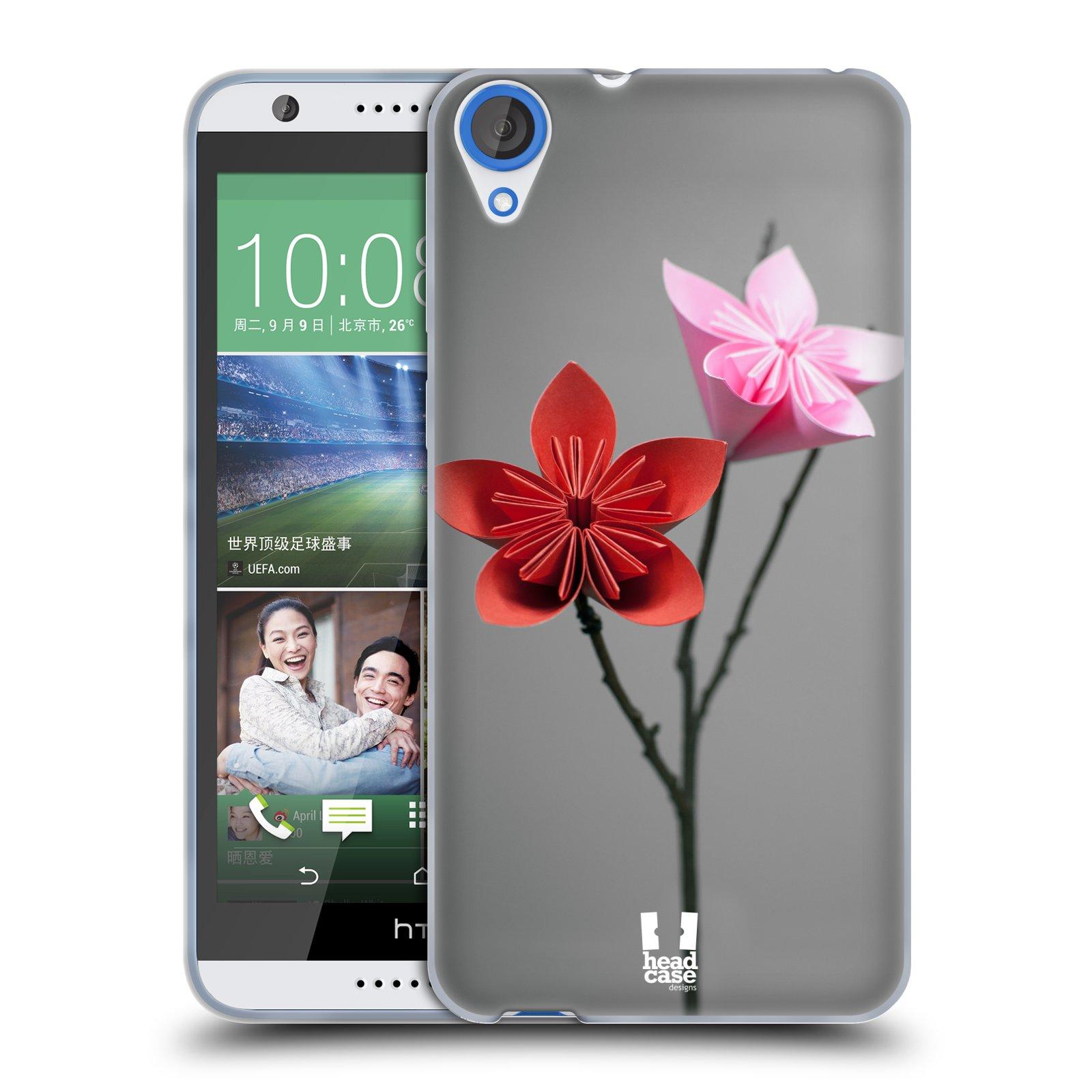 Silikonové pouzdro na mobil HTC Desire 820 HEAD CASE KUSUDAMA (Silikonový kryt či obal na mobilní telefon HTC Desire 820)
