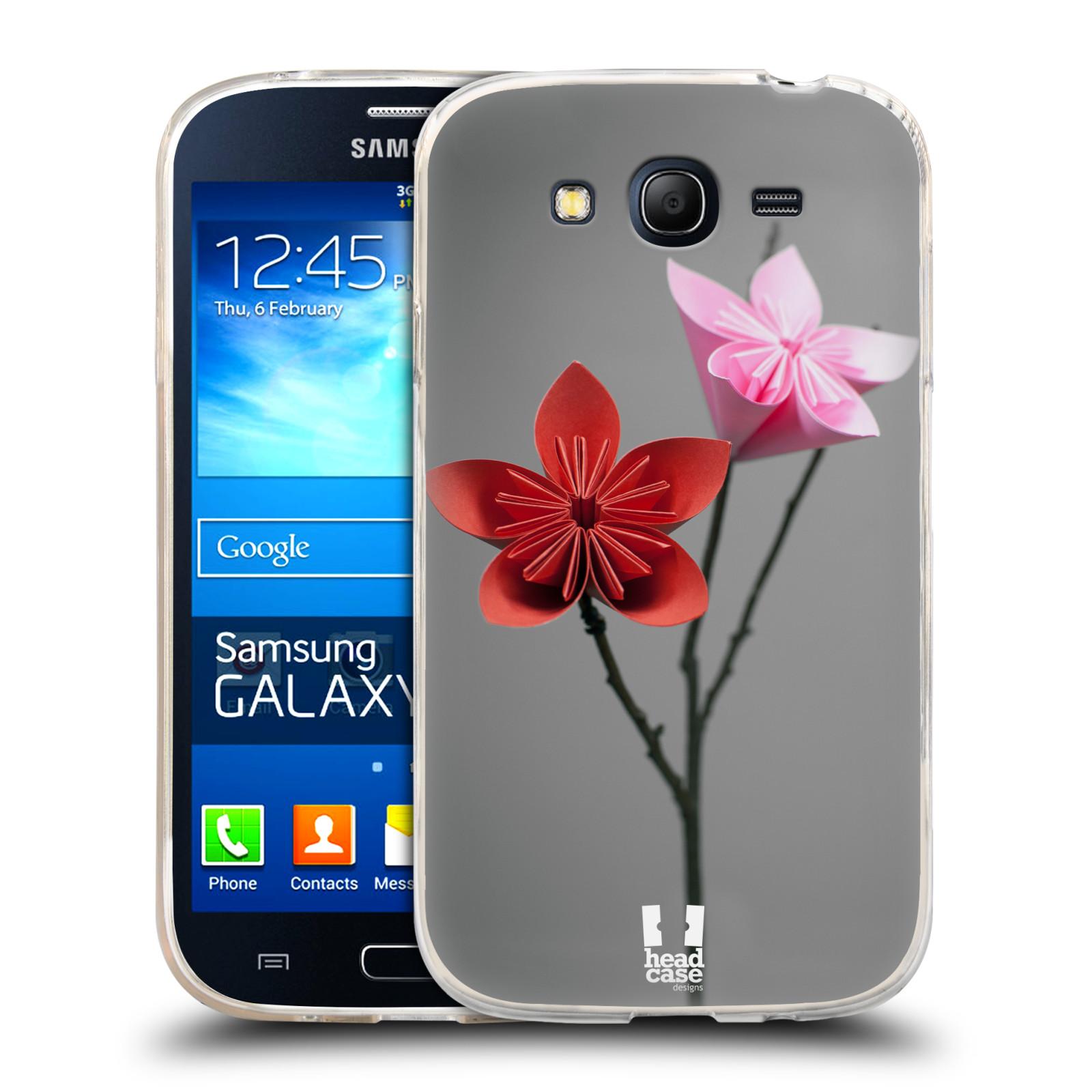 Silikonové pouzdro na mobil Samsung Galaxy Grand Neo Plus HEAD CASE KUSUDAMA (Silikonový kryt či obal na mobilní telefon Samsung Galaxy Grand Neo Plus Duos GT-I9060i)