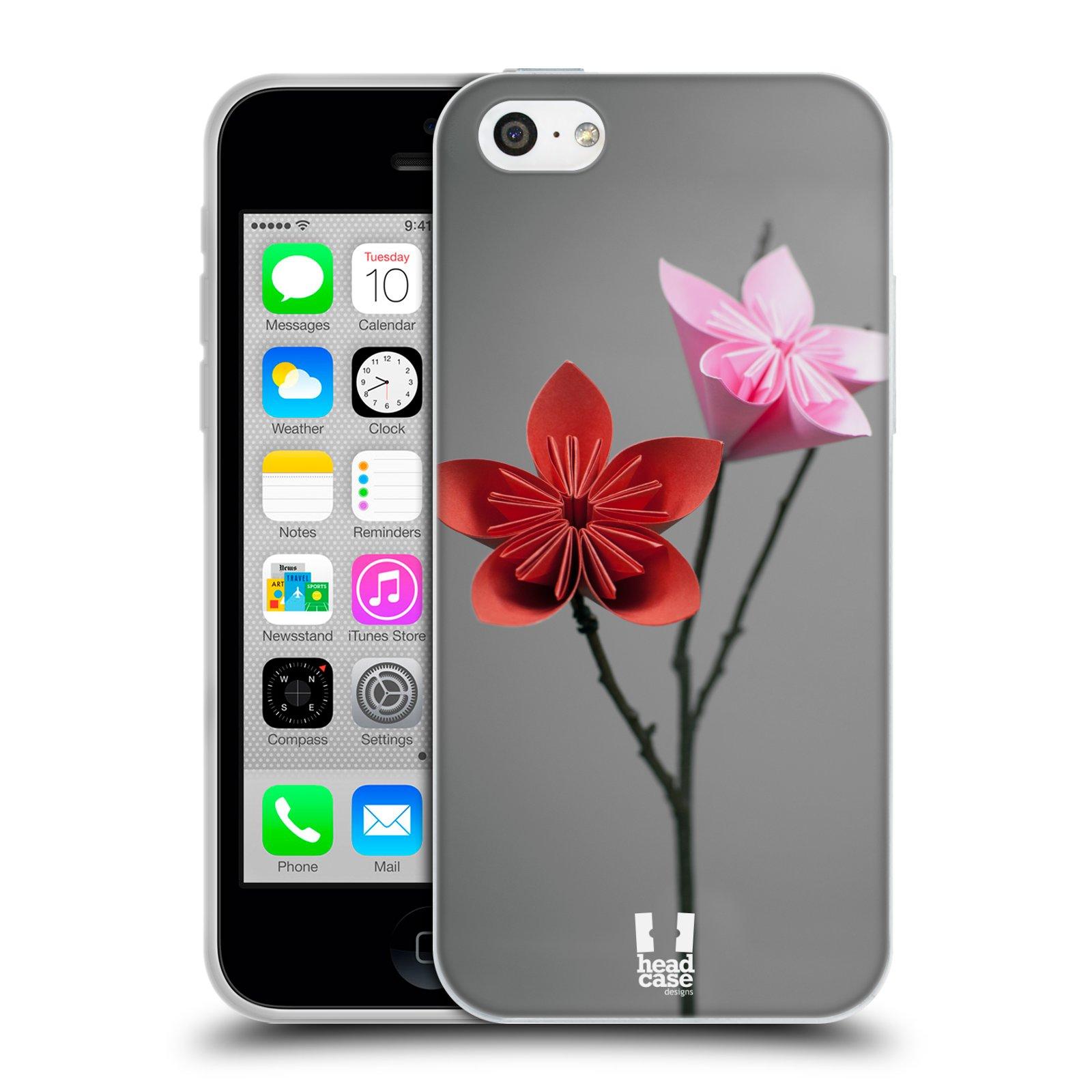 Silikonové pouzdro na mobil Apple iPhone 5C HEAD CASE KUSUDAMA (Silikonový kryt či obal na mobilní telefon Apple iPhone 5C)