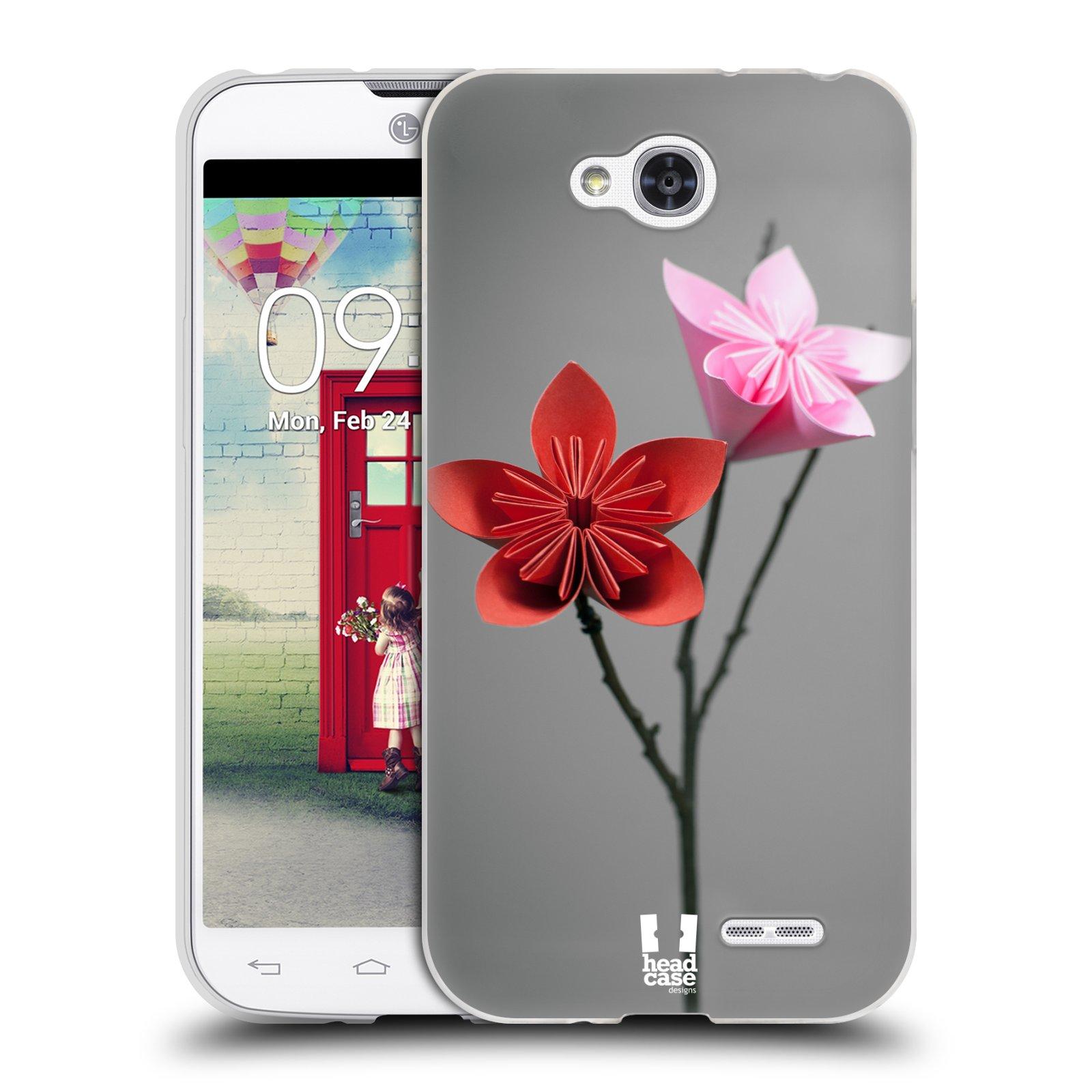 Silikonové pouzdro na mobil LG L90 HEAD CASE KUSUDAMA (Silikonový kryt či obal na mobilní telefon LG L90 D405n)