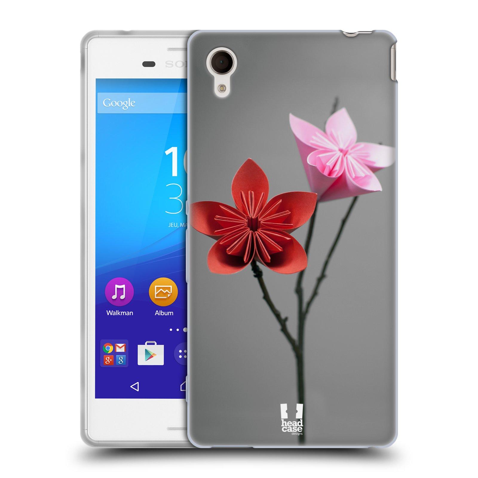 Silikonové pouzdro na mobil Sony Xperia M4 Aqua E2303 HEAD CASE KUSUDAMA (Silikonový kryt či obal na mobilní telefon Sony Xperia M4 Aqua a M4 Aqua Dual SIM)
