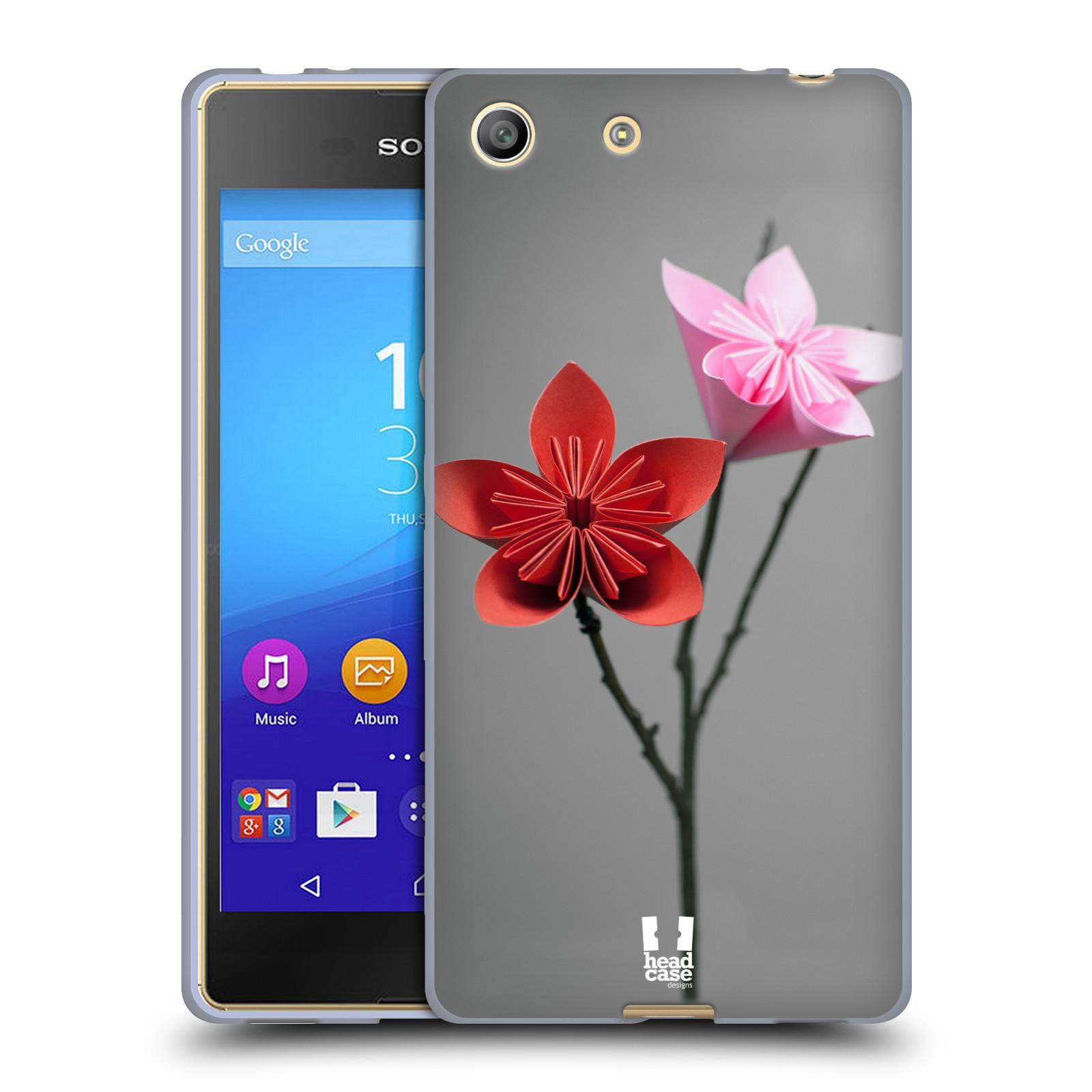 Silikonové pouzdro na mobil Sony Xperia M5 HEAD CASE KUSUDAMA (Silikonový kryt či obal na mobilní telefon Sony Xperia M5 Dual SIM / Aqua)